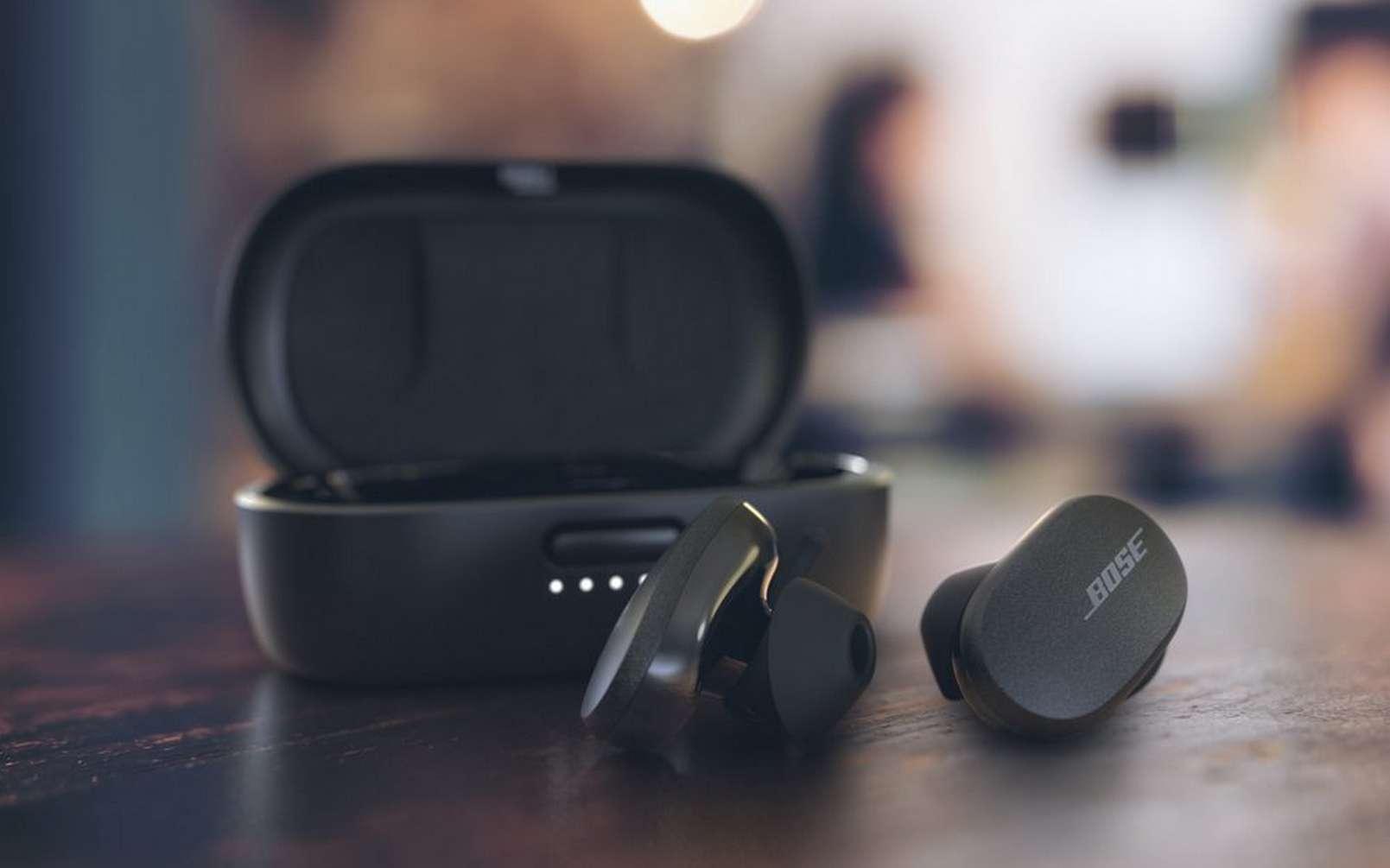 Les écouteurs Bose QuietComfort Earbuds. © Bose