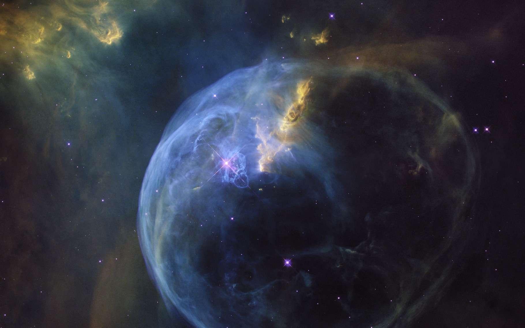 La nébuleuse de la Bulle, dans la constellation de Cassiopée. © Nasa, ESA, Hubble Heritage Team