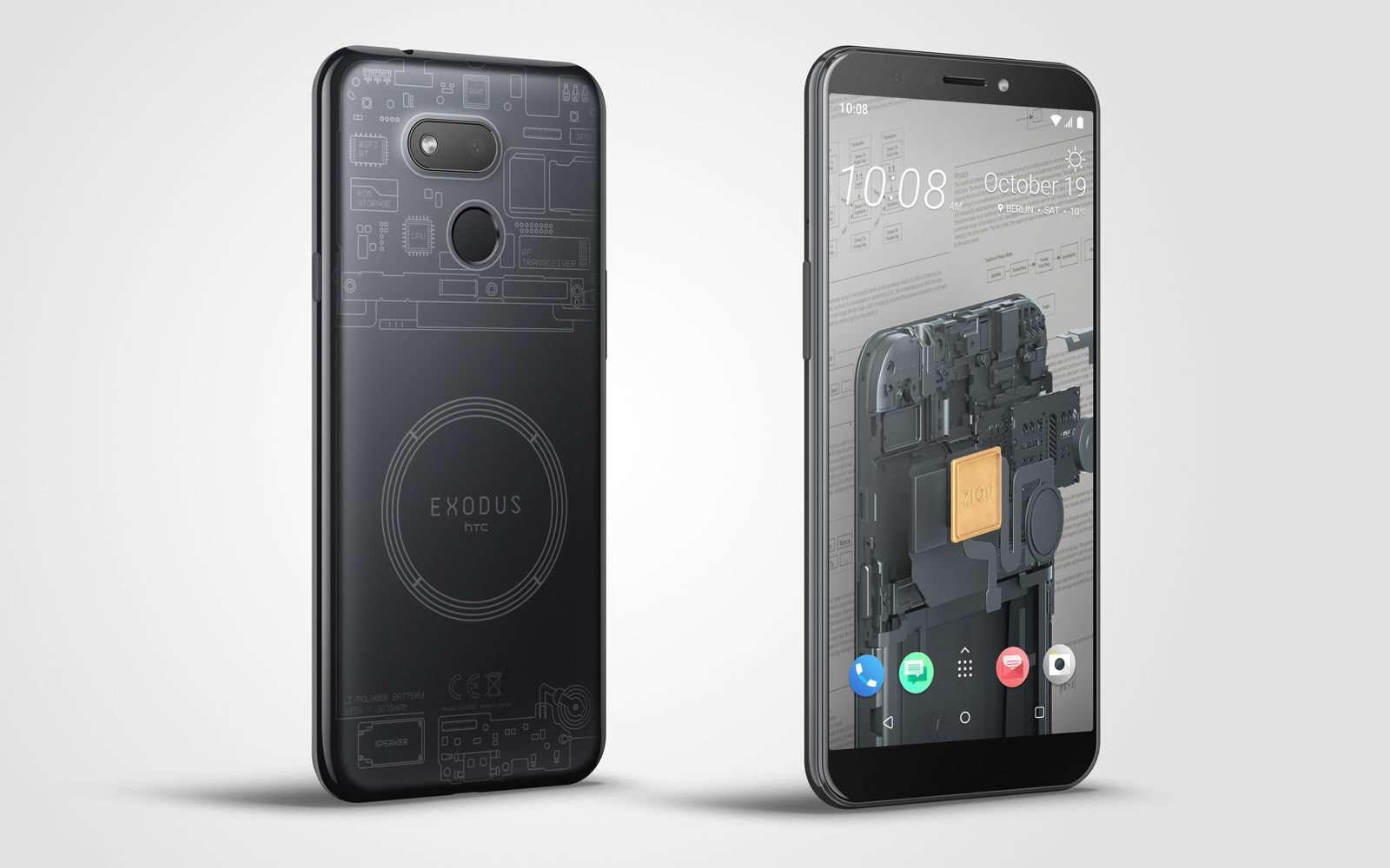 HTC Exodus 1s, un smartphone dédié aux cryptomonnaies
