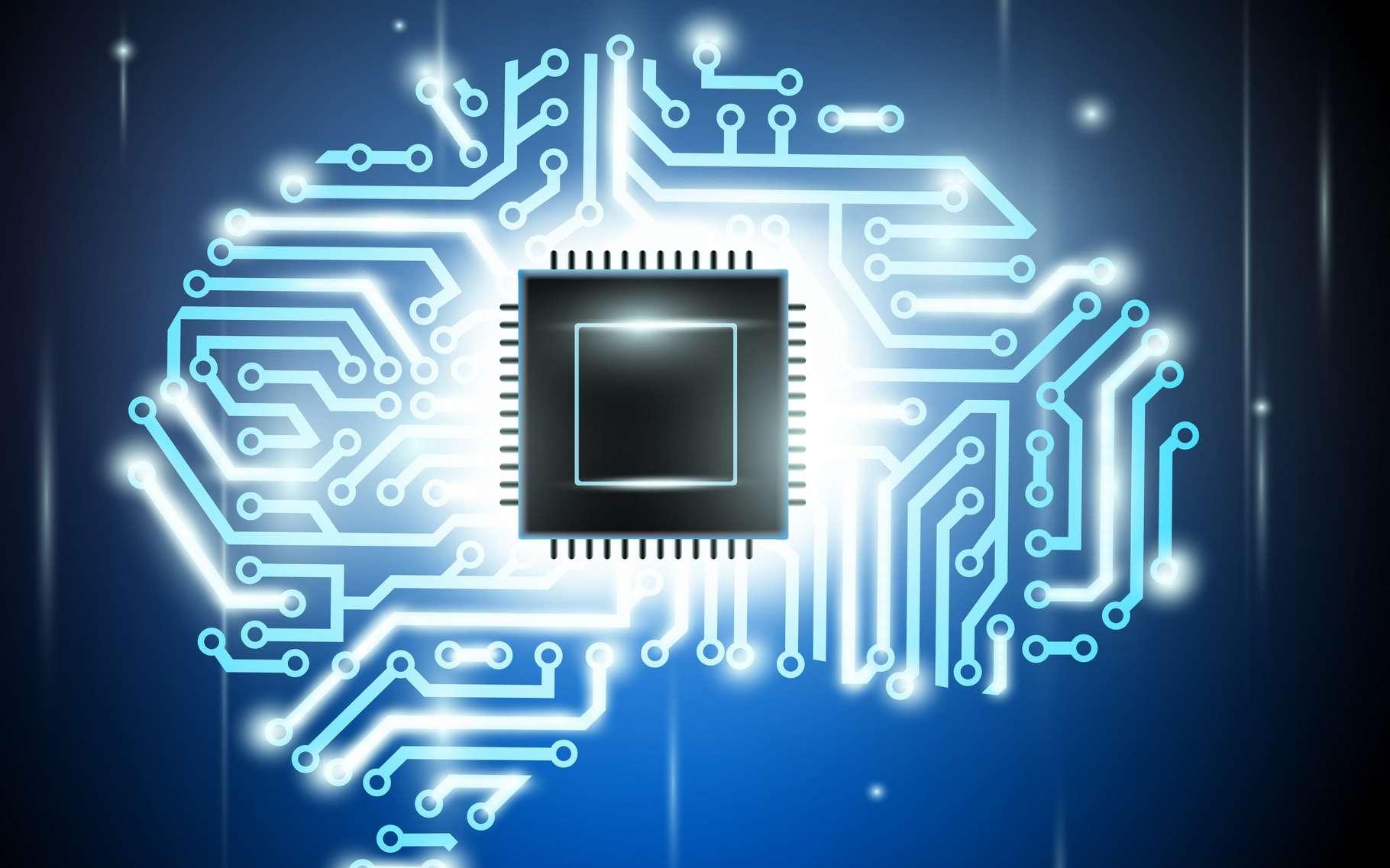 Arriver à exploiter la puissance d'une intelligence artificielle à partir d'une simple clé USB va permettre de faire grandement évoluer les capacités de nombreux appareils électroniques. © Macro-vectors, Shutterstock