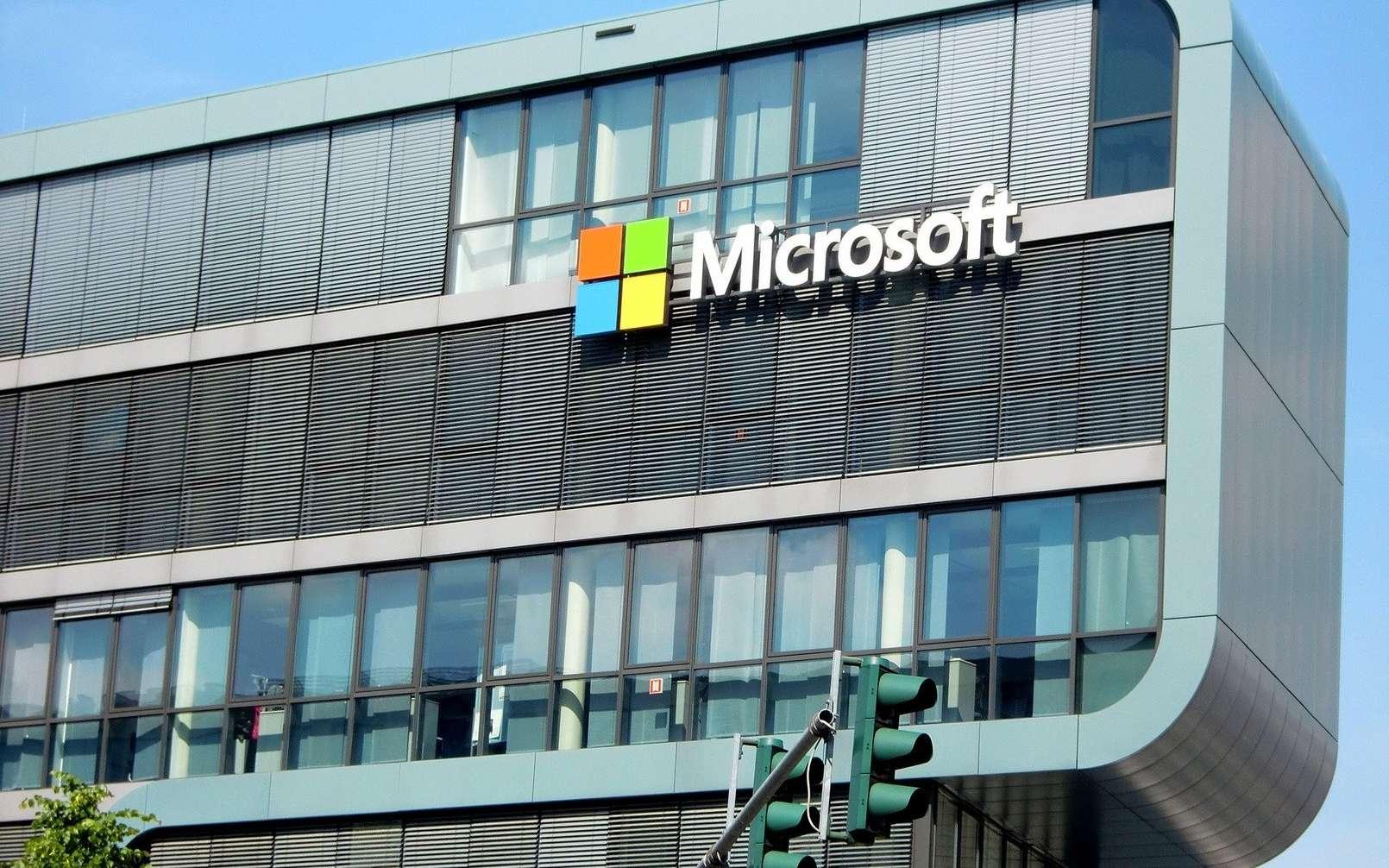 Microsoft est la première grande entreprise de la tech à se fixer de tels objectifs environnementaux. © Efes Kitap, Pixabay