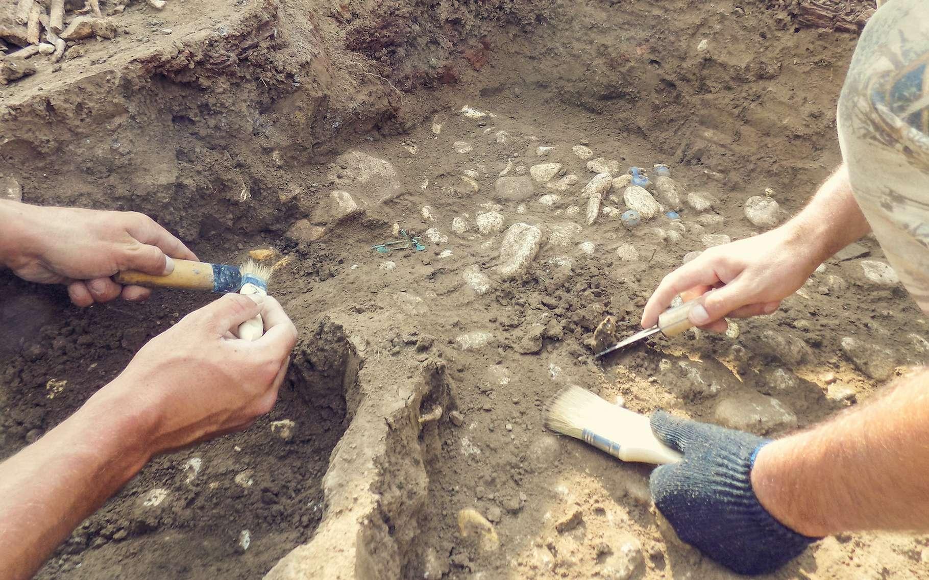Pour « mettre à jour » l'ancienne cité romaine de Falerii Novi (Italie), les archéologues ont troqué leurs outils traditionnels contre un radar à pénétration de sol. © Irina, Adobe Stock