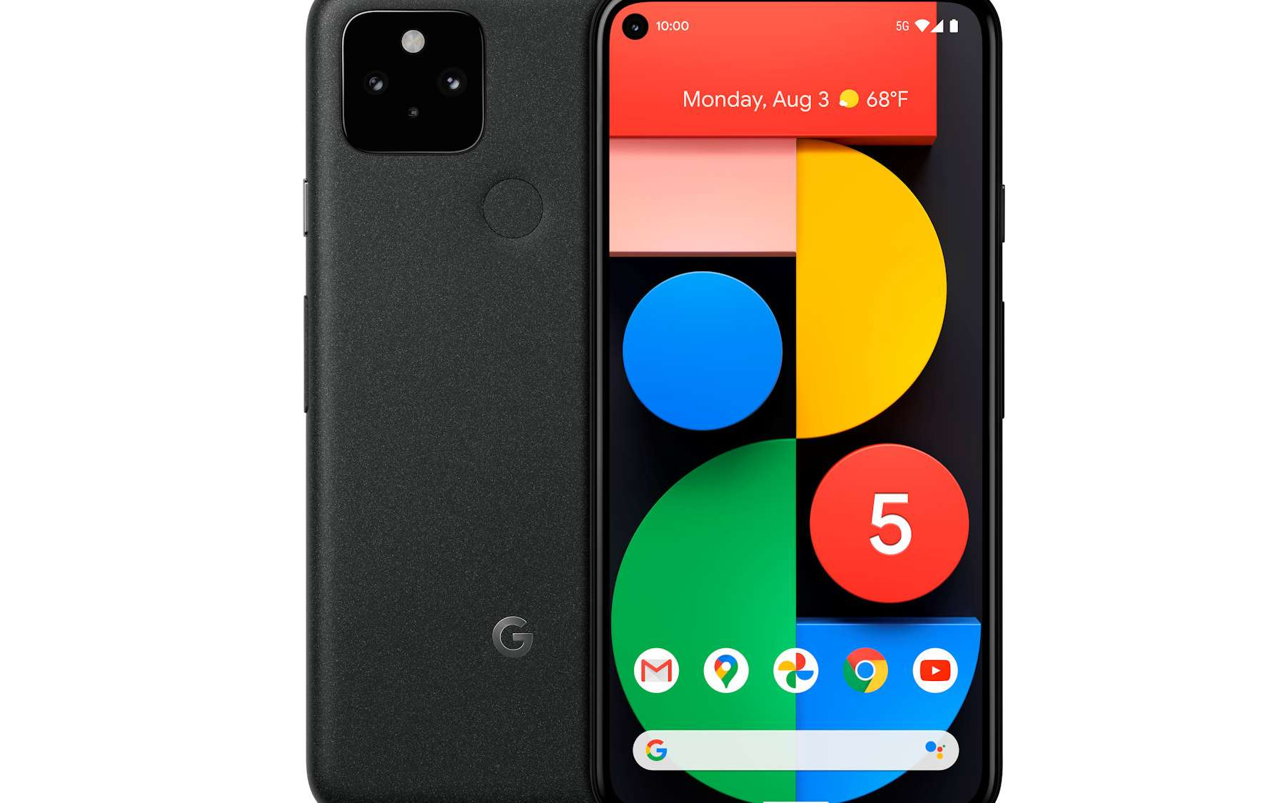 Le Pixel 5 possède un écran plus petit que le Pixel 4a. © Google