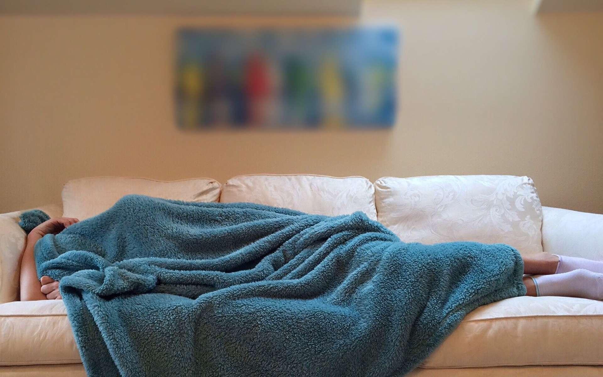 Les troubles de stress post-traumatiques entraînent le plus souvent des cauchemars. © Wokandapix, Pixabay