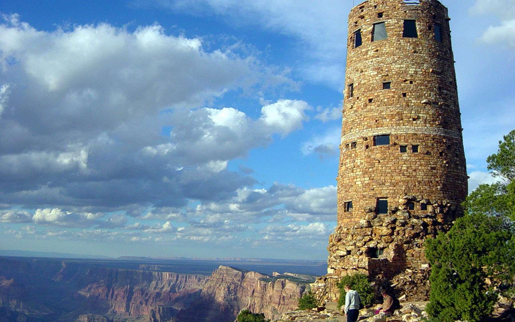 Il existe 59 parcs nationaux aux États-Unis. © Michael Quinn, Wikimedia Commons, cc by 2.0