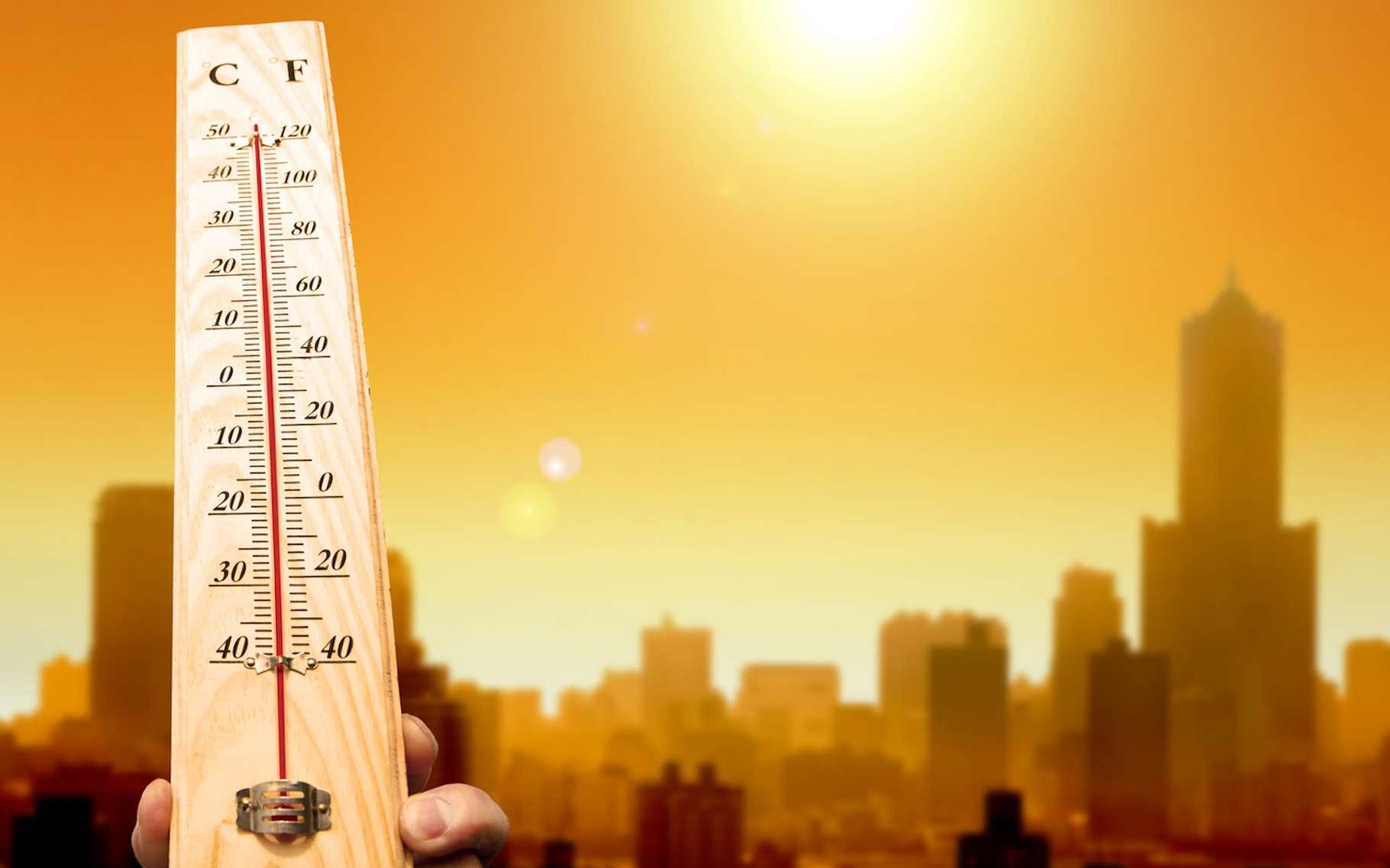 En ville, il fait plus chaud qu'à la campagne et plus encore pendant les périodes sèches, lorsque la météo est calme et le ciel clair. © Tom Wang, Fotolia