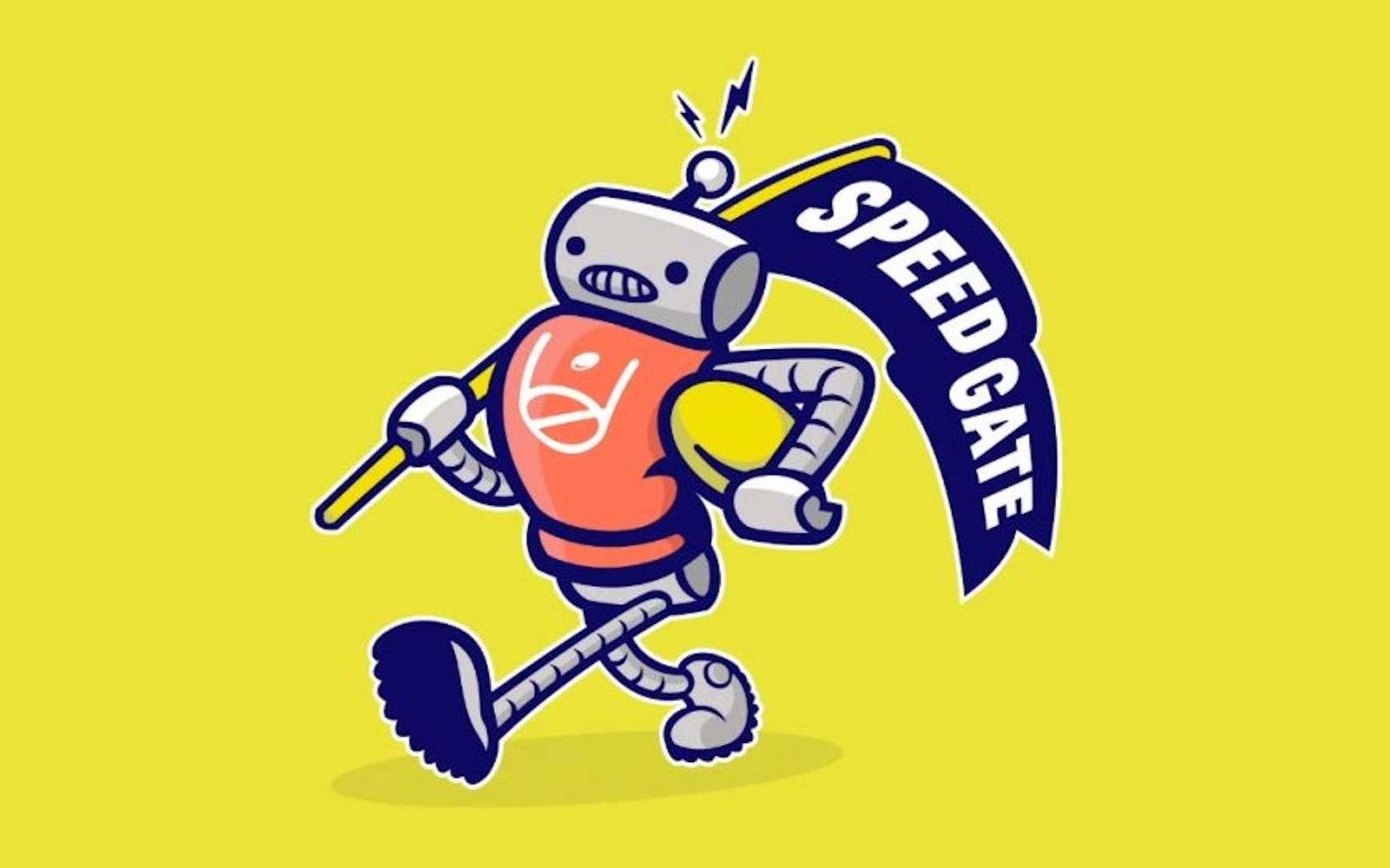 L'IA s'est inspirée de plus de 15.000 logos sportifs existants pour créer son propre logo. © AKQA