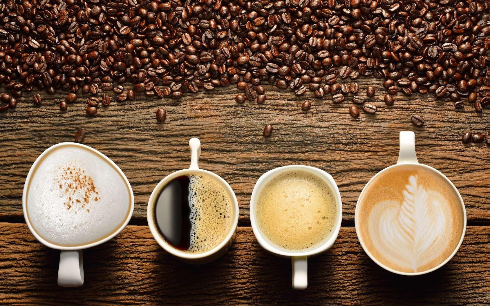 Le café est bon pour le cœur. Les effets bénéfiques se voient pour une consommation de quatre tasses. © amenic181, Fotolia