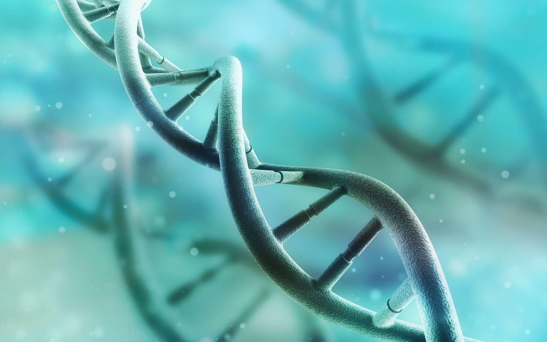 Au cours des dernières décennies, une recherche intense a mis en évidence des modifications chimiques des histones qui constituent un véritable langage instruisant la fonction des gènes associés. © adike, shutterstock.com