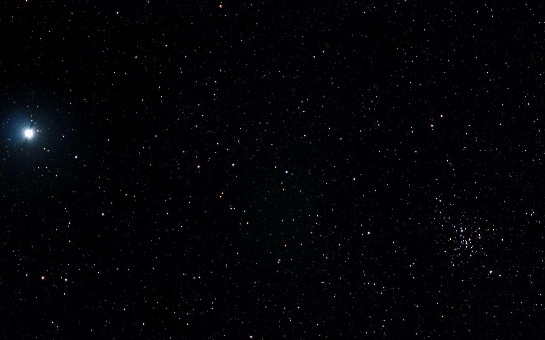 Les astronomes de l'université de l'État de Louisiane (États-Unis) prédisent que l'étoile V Sagittae nous apparaîtra plus brillante que Sirius — ici en image — en 2083. © Eduardo, Adobe Stock