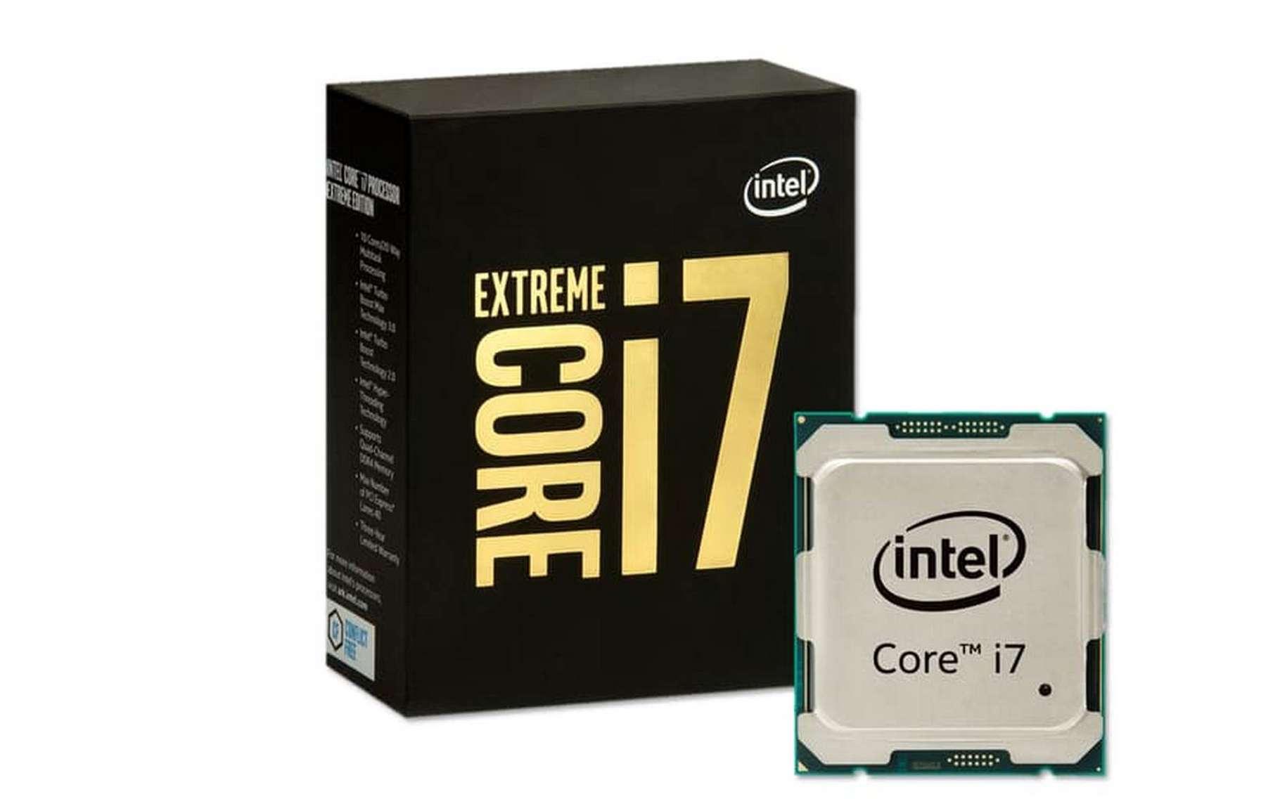 Selon Intel, le Core i7-6950X Extreme Edition est le processeur pour ordinateurs grand public le plus puissant qu'il ait jamais proposé. © Intel