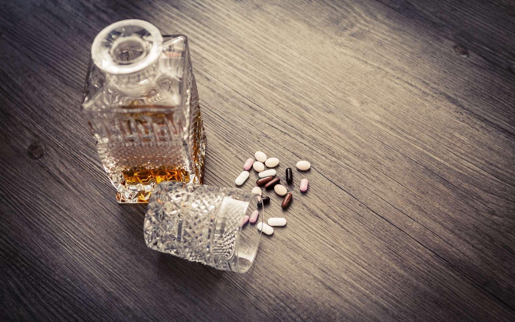 Le baclofène est prescrit pour traiter les dépendances à l'alcool. © tonda55, Fotolia