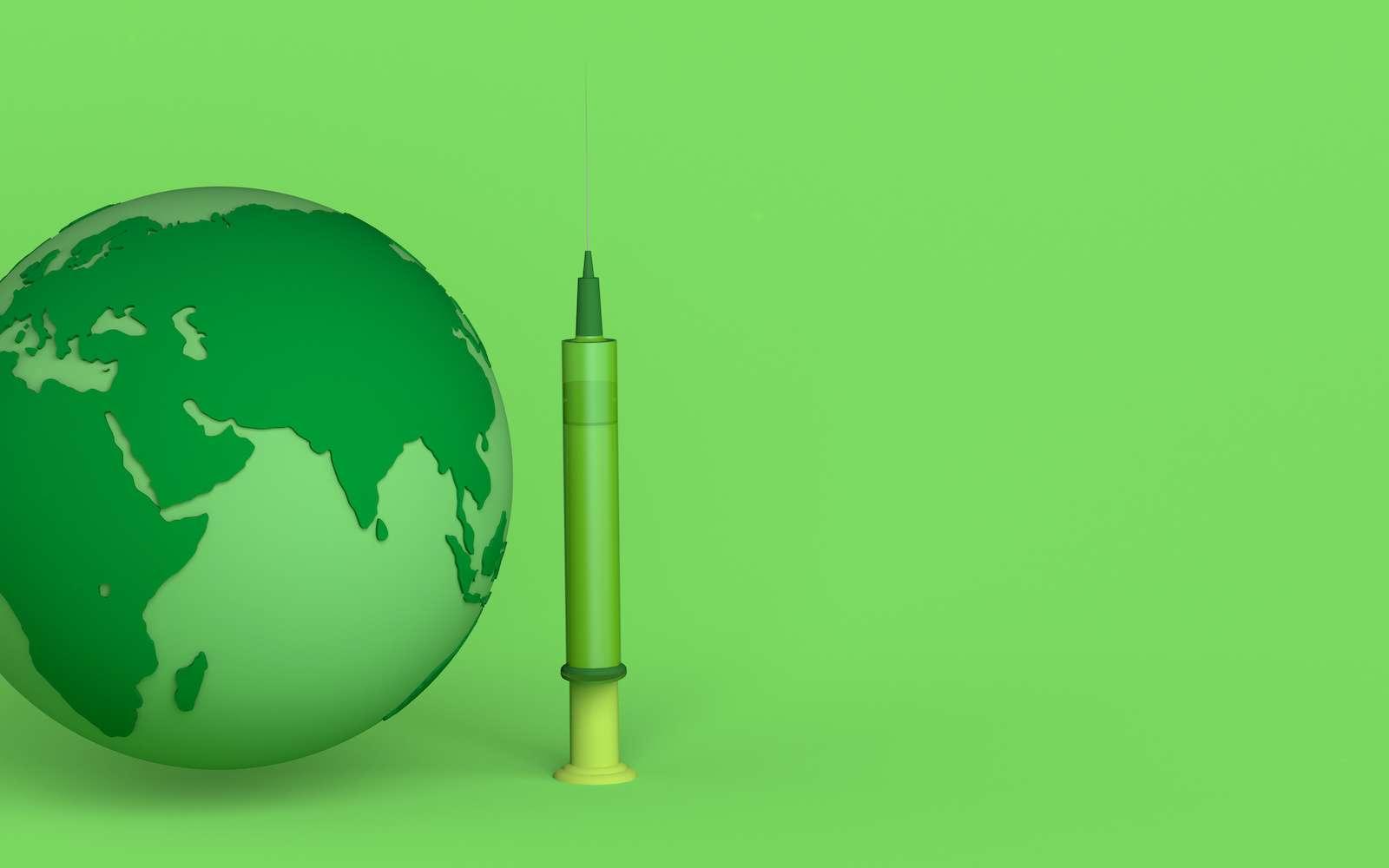 Un vaccin universel contre la grippe protègerait d'une pandémie mondiale. © ro9drigo, Adobe Stock