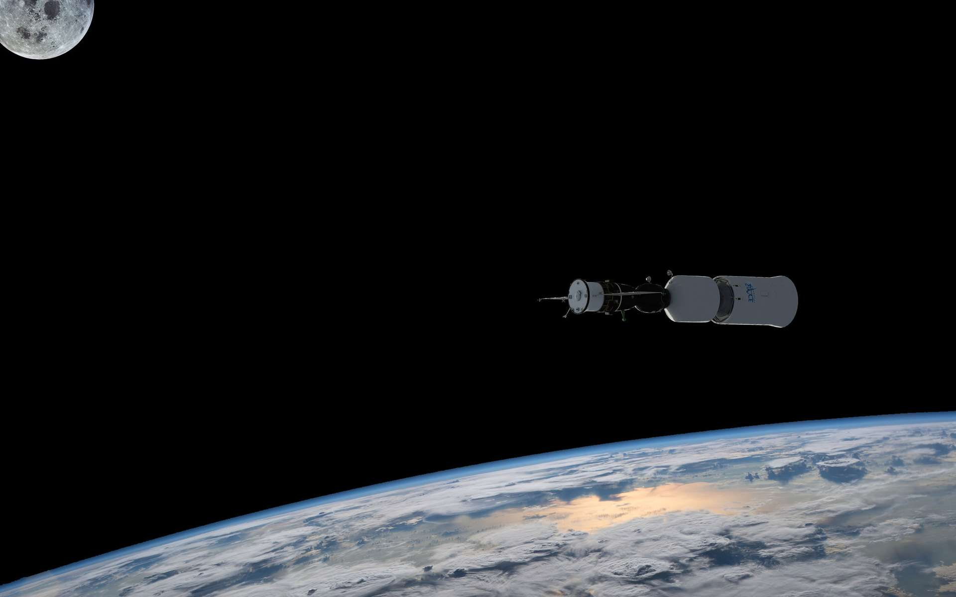 Alors que le tourisme suborbital marque le pas et que ses avions spatiaux se font attendre, le tourisme spatial retrouve quant à lui des couleurs. D'ici quelques trimestres, il sera de nouveau possible de séjourner à bord de la Station spatiale internationale (ISS) et les premiers vols autour de la Lune sont annoncés pour 2020. © Rémy Decourt, Nasa, Space Adventures