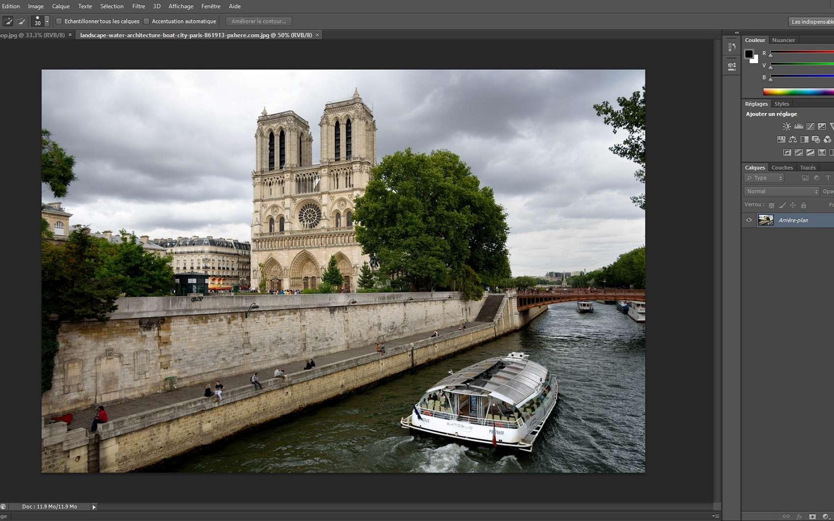 Photoshop Comment Bien Detourer Une Image