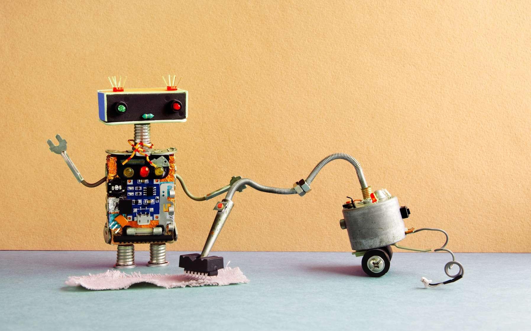 Ces robots nous épargnent bien des corvées ménagères. © besjunior, Fotolia
