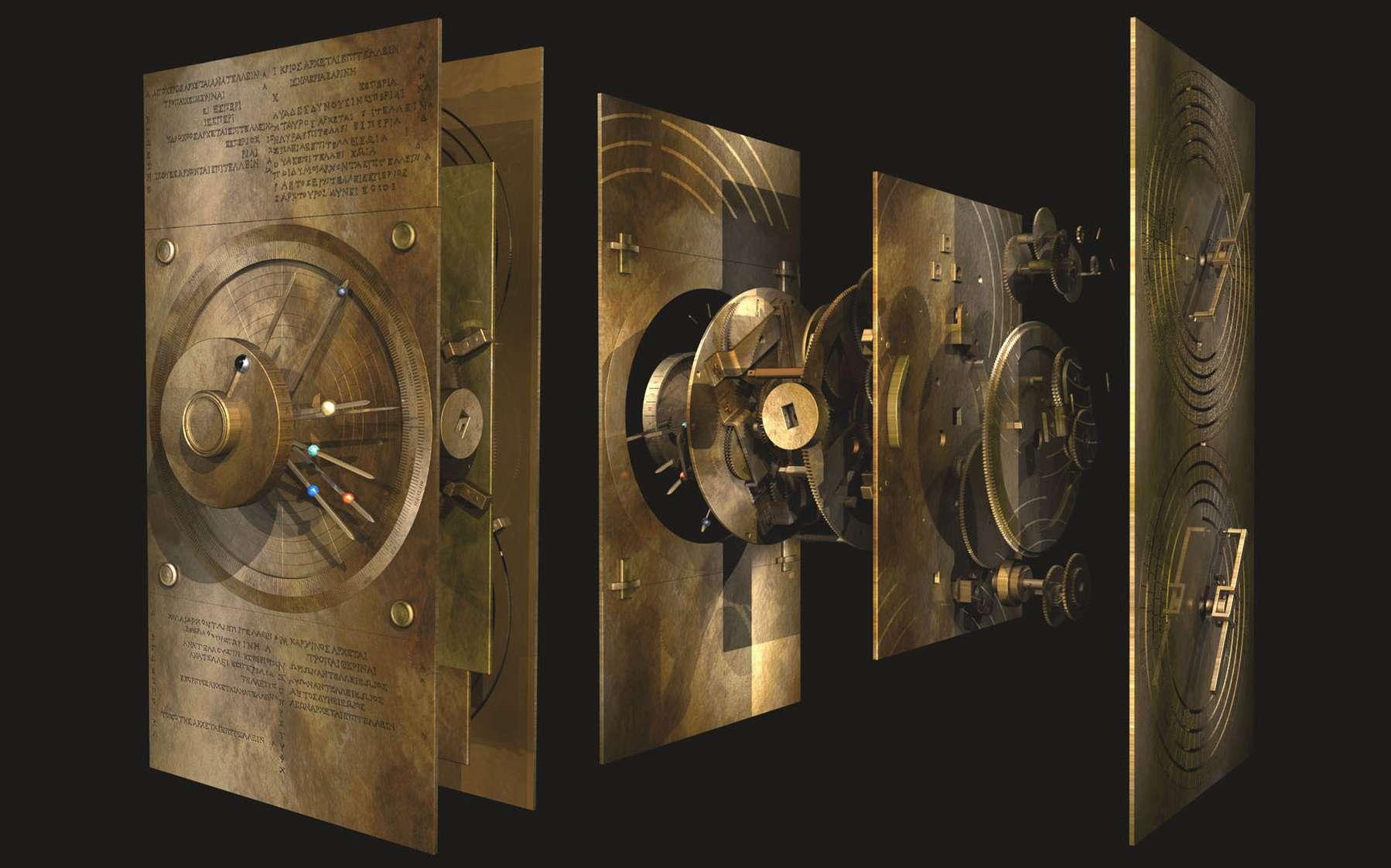 Le mécanisme d'Anthycitère témoigne des avancées de la science grecque et d'un savoir-faire technologique important au début de notre ère. © 2020 Tony Freeth