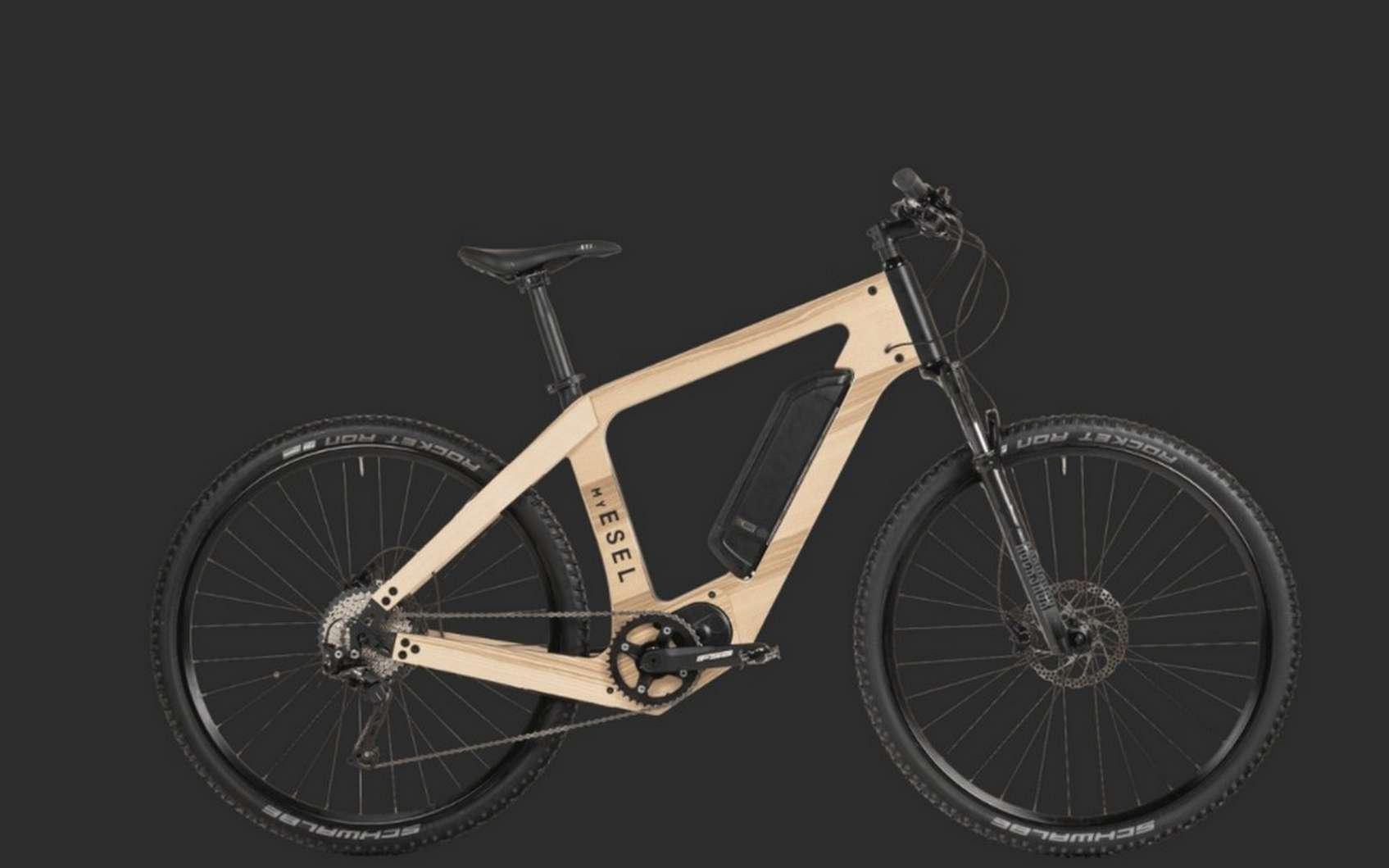 L'expertise de My Esel dans la conception de cadre de vélos en bois trouve sa source dans le ski. © My Esel