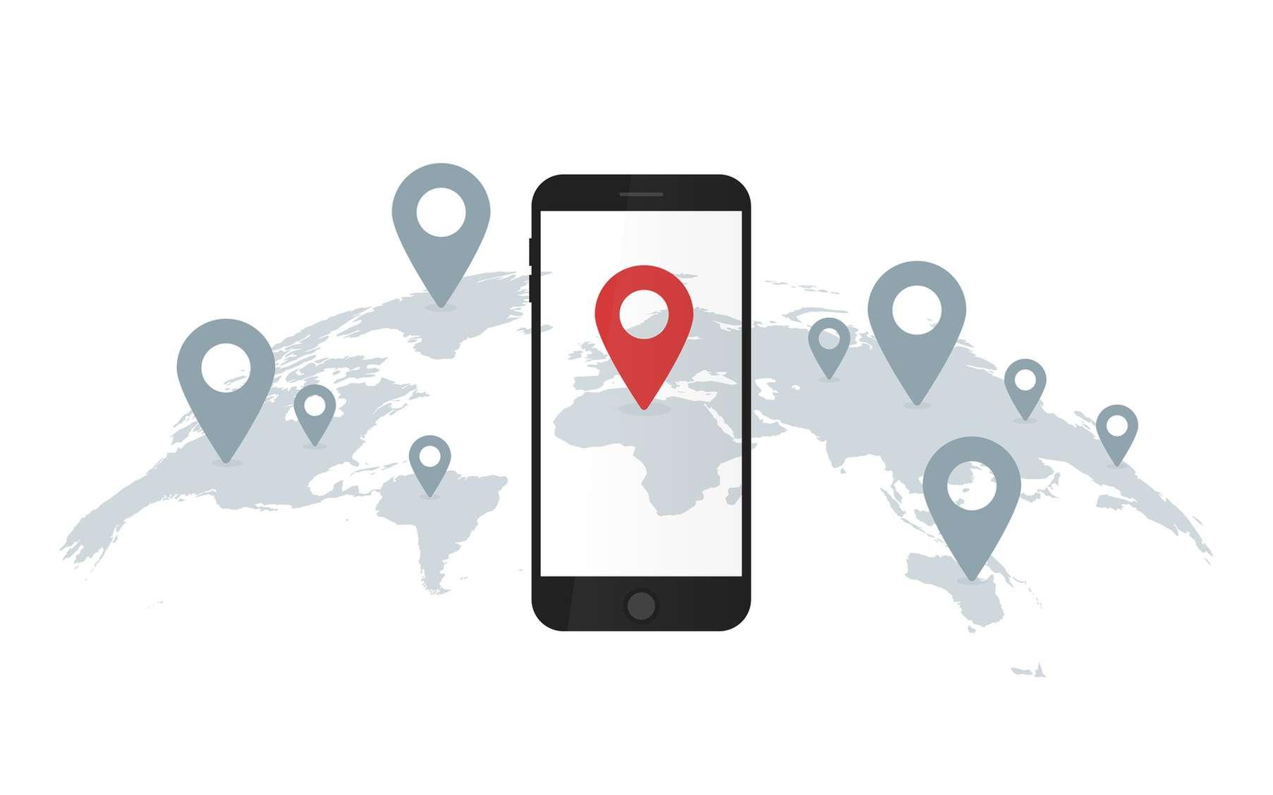 Google mémorise l'historique des lieux où vous vous rendez, même si la géolocalisation d'un smartphone a été désactivée. © vectorplus, fotolia