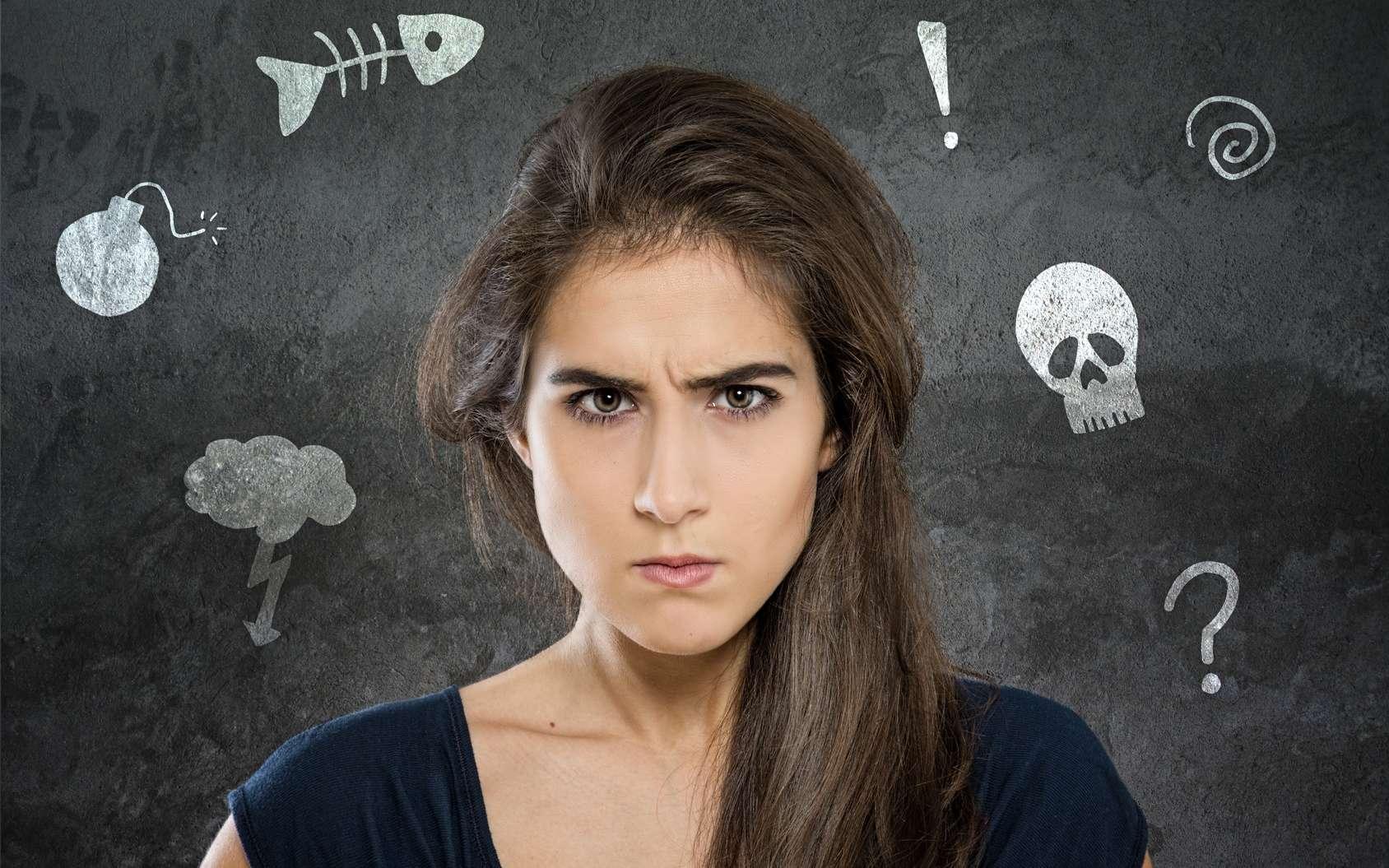 Une molécule qui supprime les pensées indésirables de notre cerveau, c'est possible ? Ruminer des idées noires n'est pas bon pour la santé mentale. © lassedesignen, Fotolia