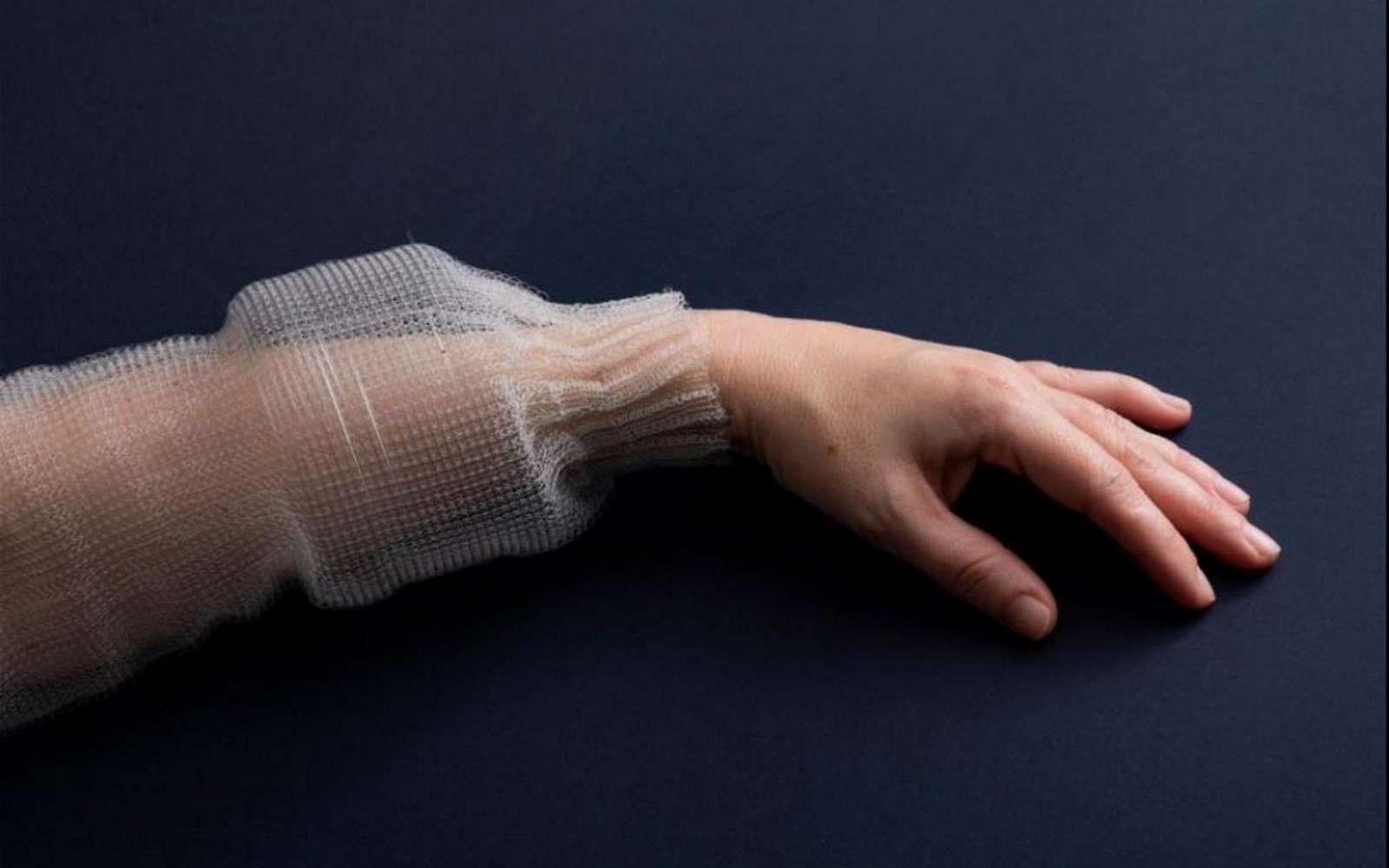 Cette fibre textile peut être utilisée pour créer des vêtements intelligents. © Anna Gitelson-Kahn, Roni Cnaani