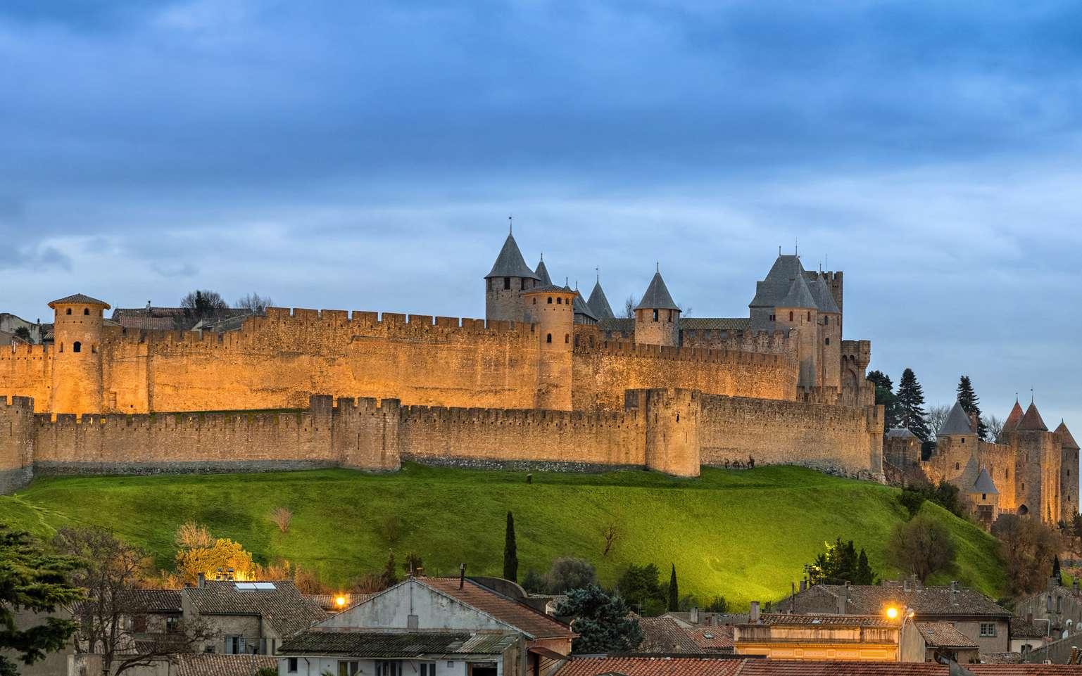 La cité médiévale de Carcassonne est visitée, chaque année, par 5 millions de touristes. © bbsferrari, fotolia