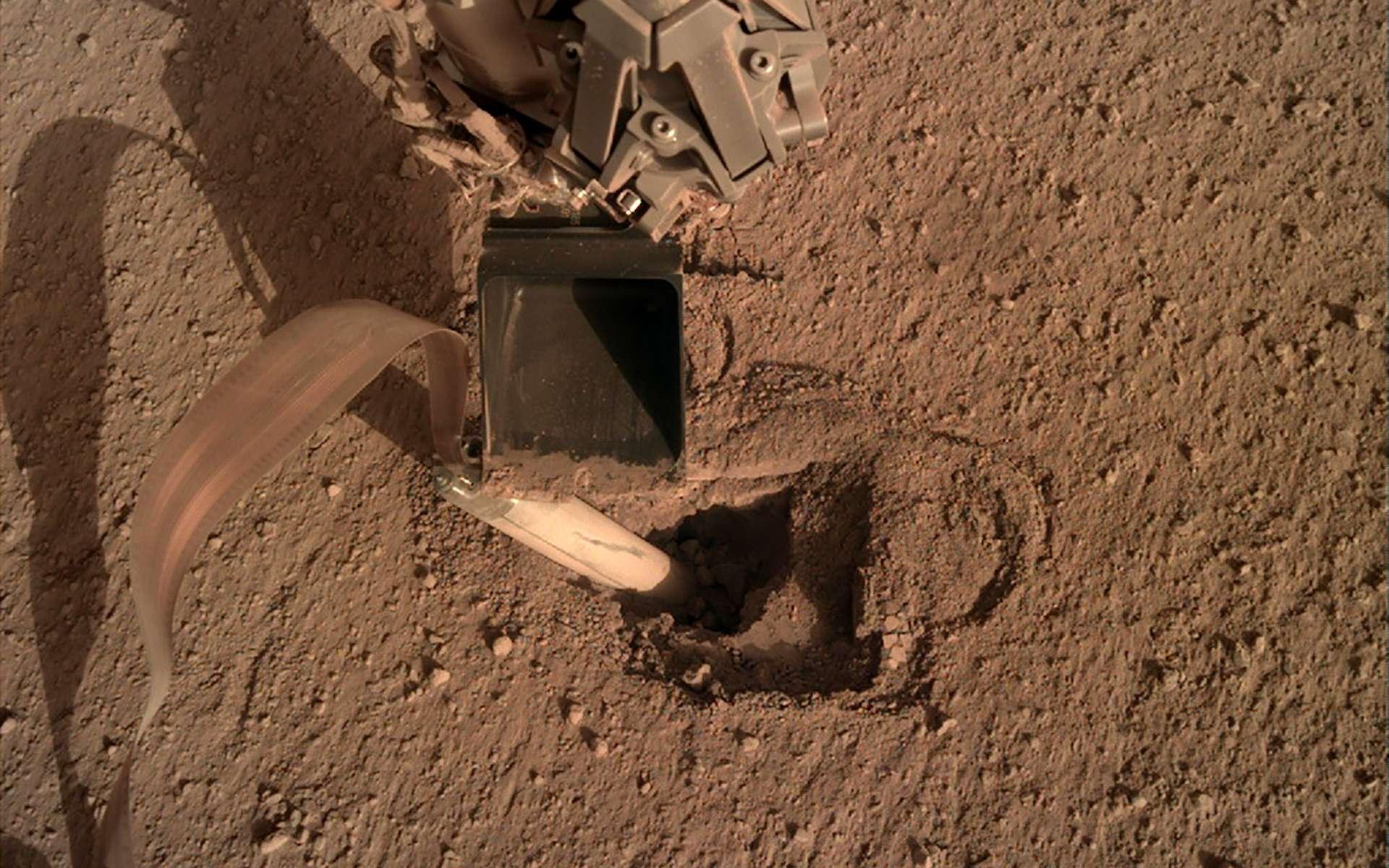 Nasa : opération de la dernière chance pour enfoncer « la taupe » dans le sol de Mars