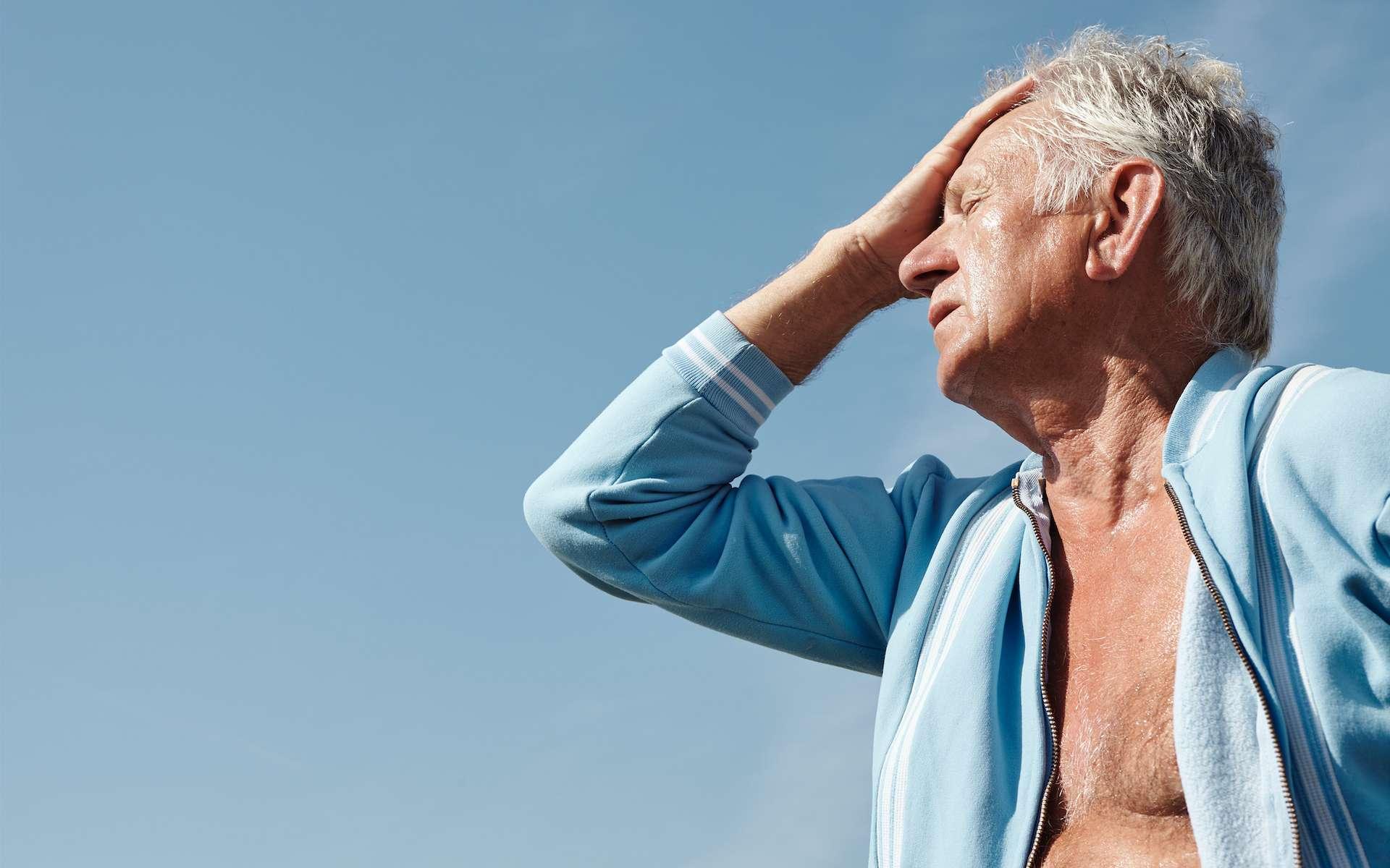 Les personnes âgées sont particulièrement vulnérables à la déshydratation. © Pierre, Adobe Stock