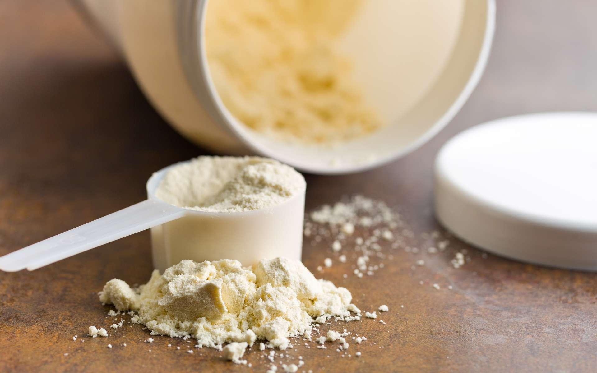 La consommation de protéines en poudre ne concerne que les sportifs assidus. © jiri Hera, Adobe Stock