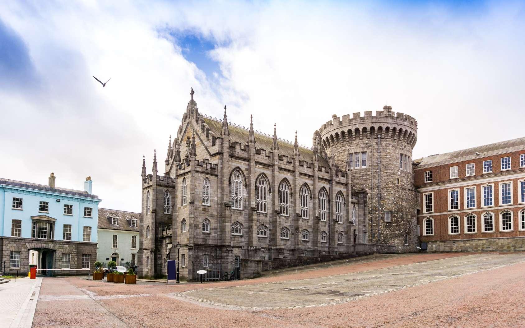 Le centre ville de Dublin. © ilolab, fotolia