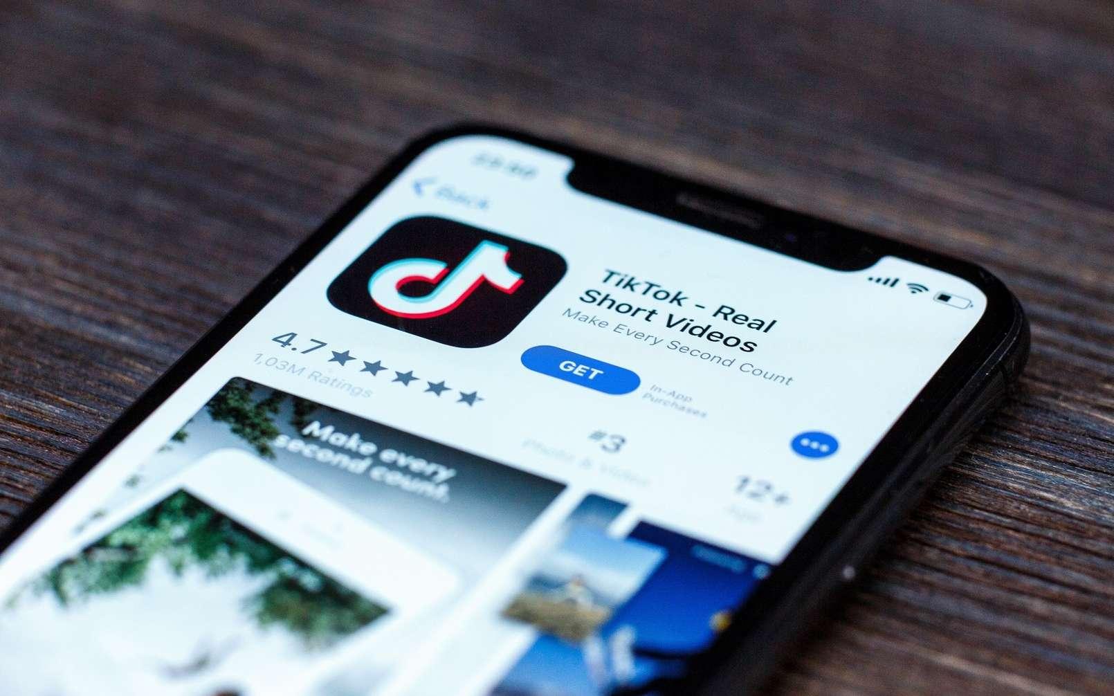 Le mois dernier, TikTok a dépassé les 3 milliards de téléchargements dans le monde. © XanderSt/Shutterstock