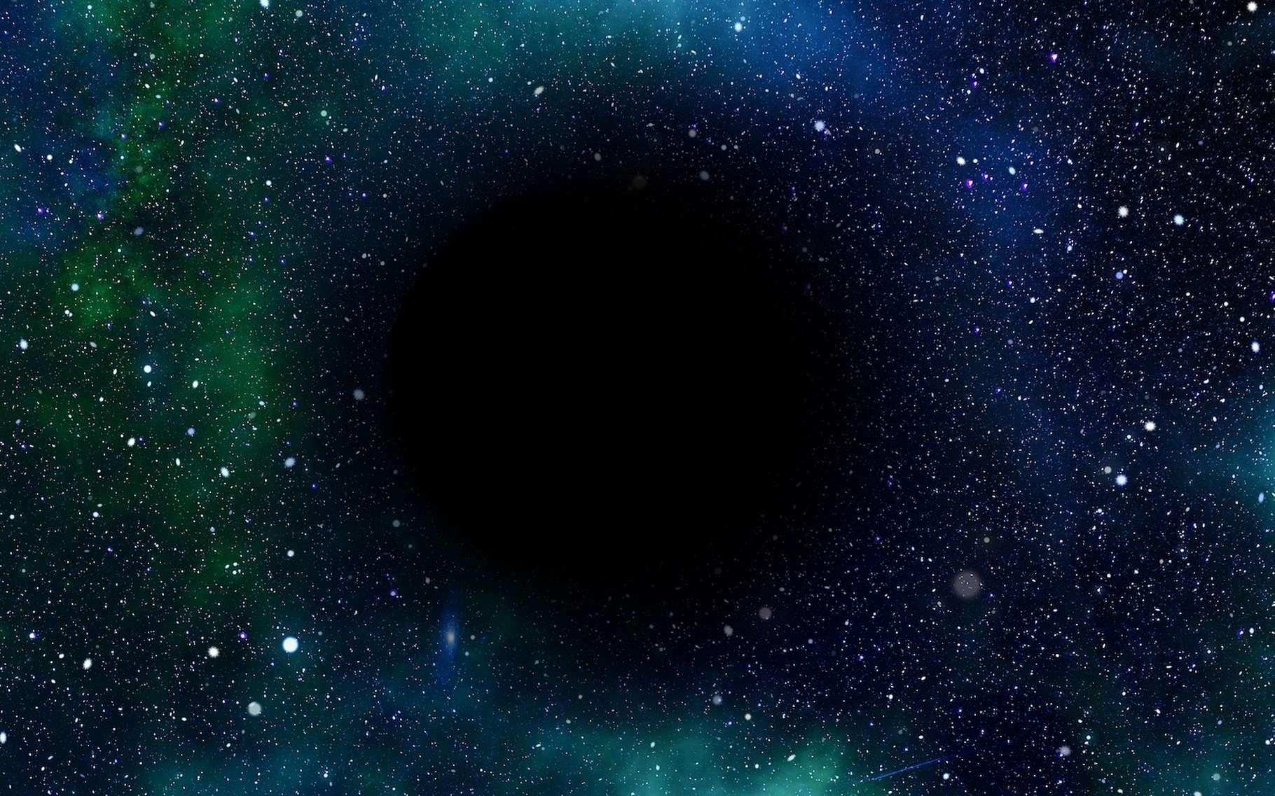 Aux confins de notre Système solaire, des milliers de petits corps glacés constituent ce que les astronomes appellent la ceinture de Kuiper. Six de ces objets présentent des orbites étranges, comme si elles étaient perturbées par une mystérieuse planète, la planète X ou planète 9. Et des physiciens imaginent aujourd'hui que cette planète 9 pourrait en fait être un trou noir. © geralt, Pixabay License