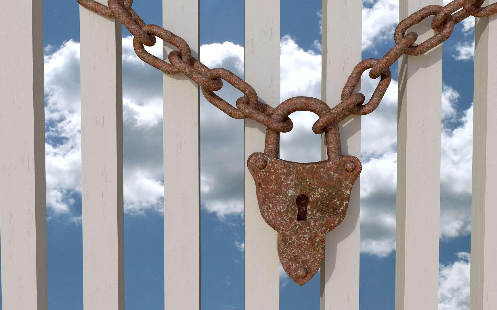 Clé privée-clé publique. © MasterTux, Pixabay