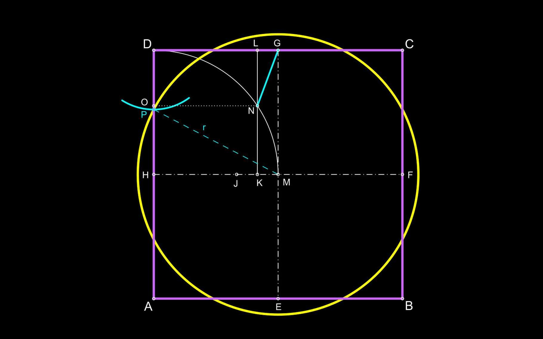 L'algèbre au secours de la géométrie. © Futura