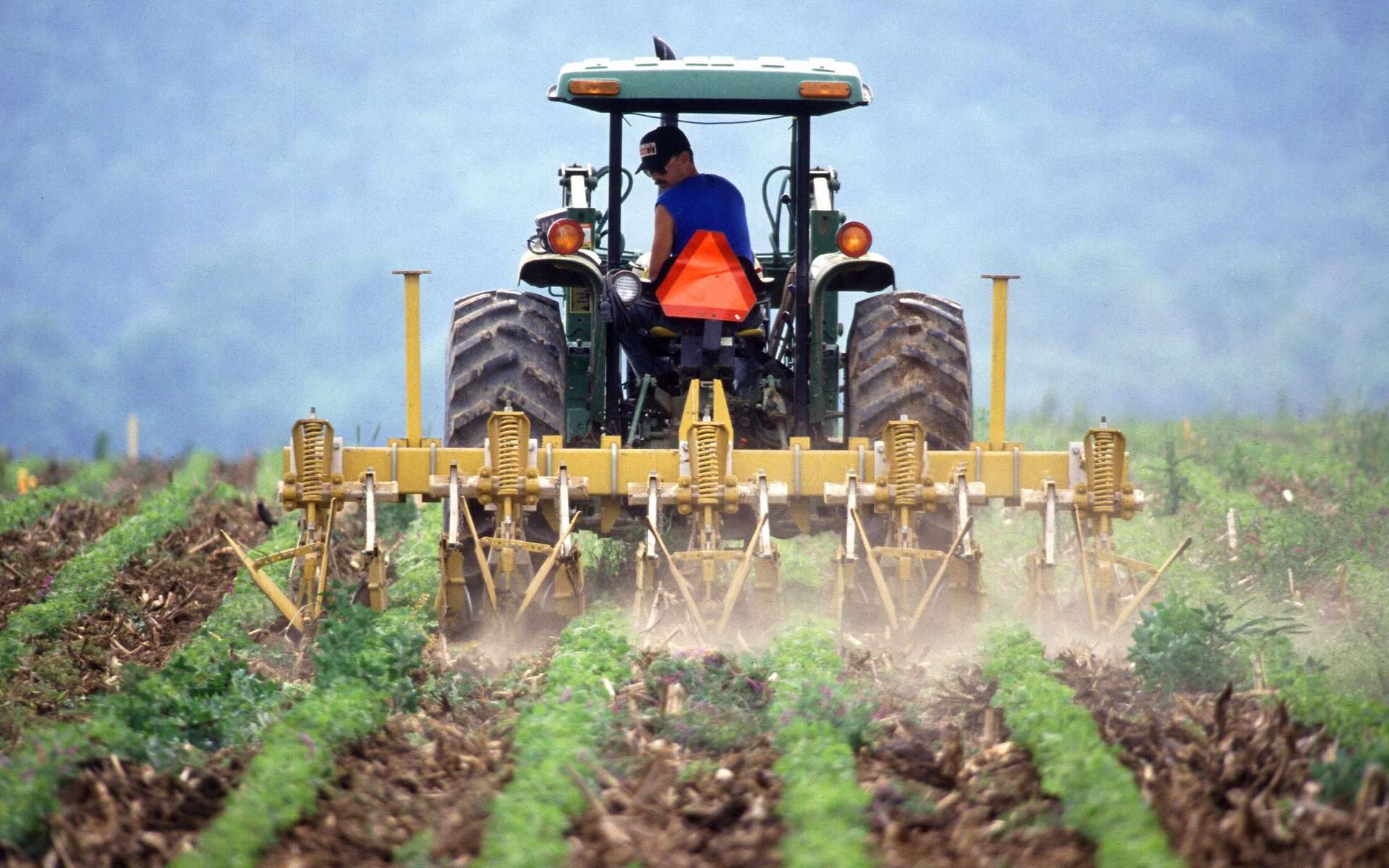 Les agriculteurs font des efforts pour améliorer leurs pratiques et limiter la quantité de produits phytosanitaires. © Flickr