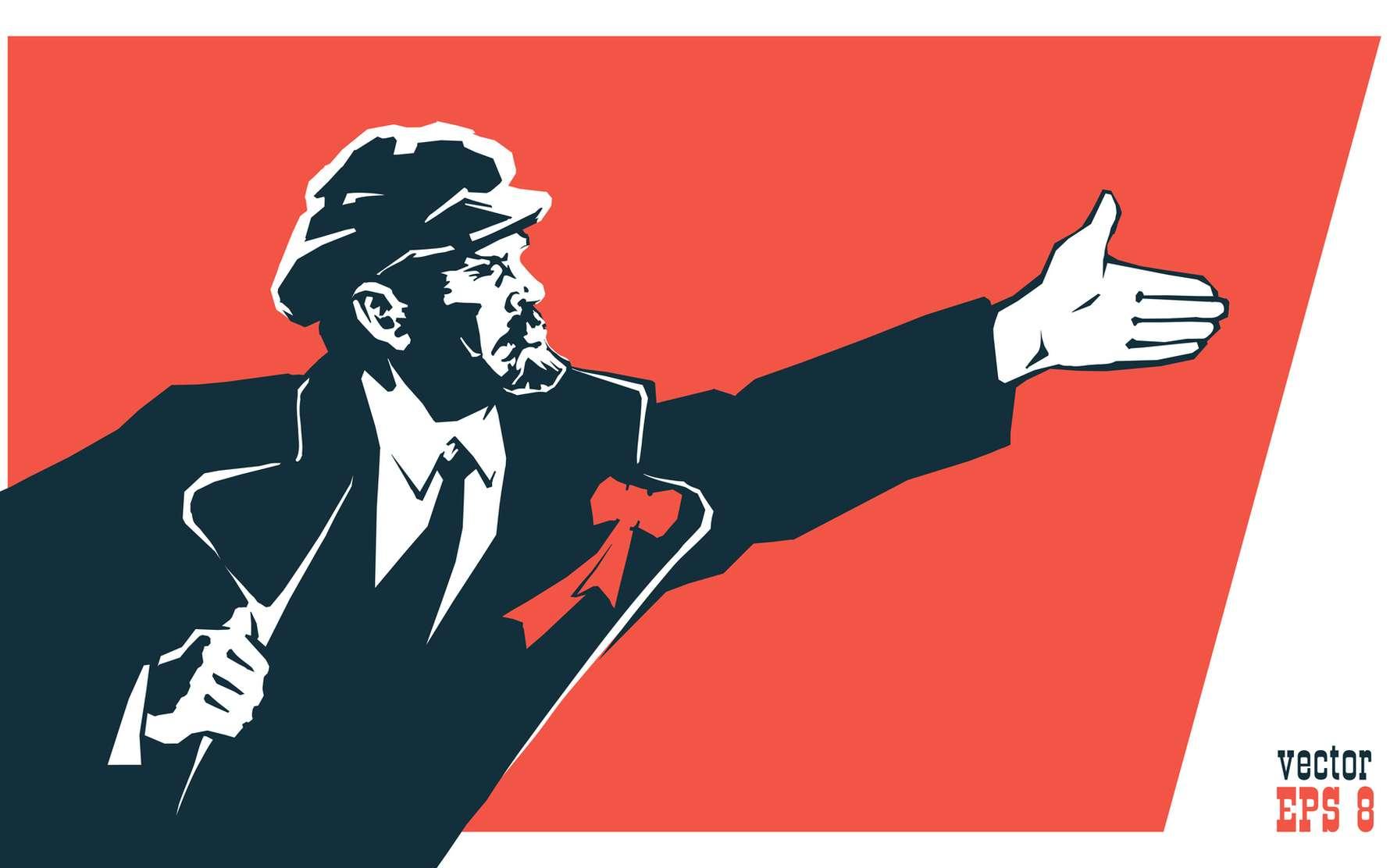 La révolution d'Octobre aboutira à la création de l'URSS en 1922. © dan177, fotolia