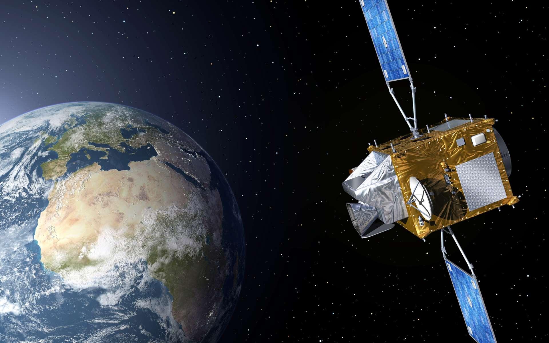 Avec GMES, l'Union européenne et l'Agence spatiale européenne visent à doter l'Europe d'un système autonome et opérationnel d'information capable d'observer la Terre à toutes les échelles (locale, régionale, mondiale). © Esa/P. Carril