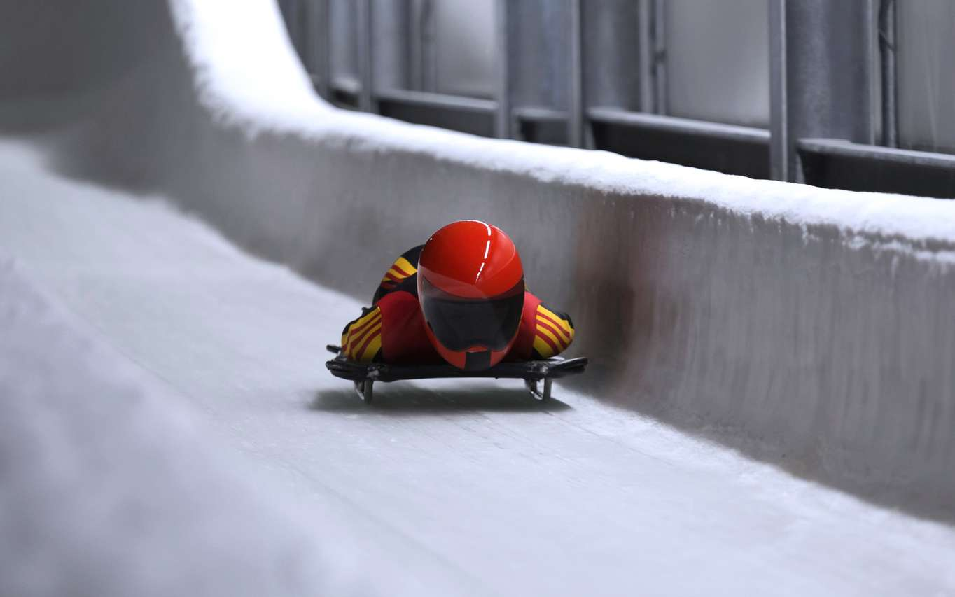 Qu'est-ce que le skeleton, sport olympique ? © Tobias Arhelger, fotolia