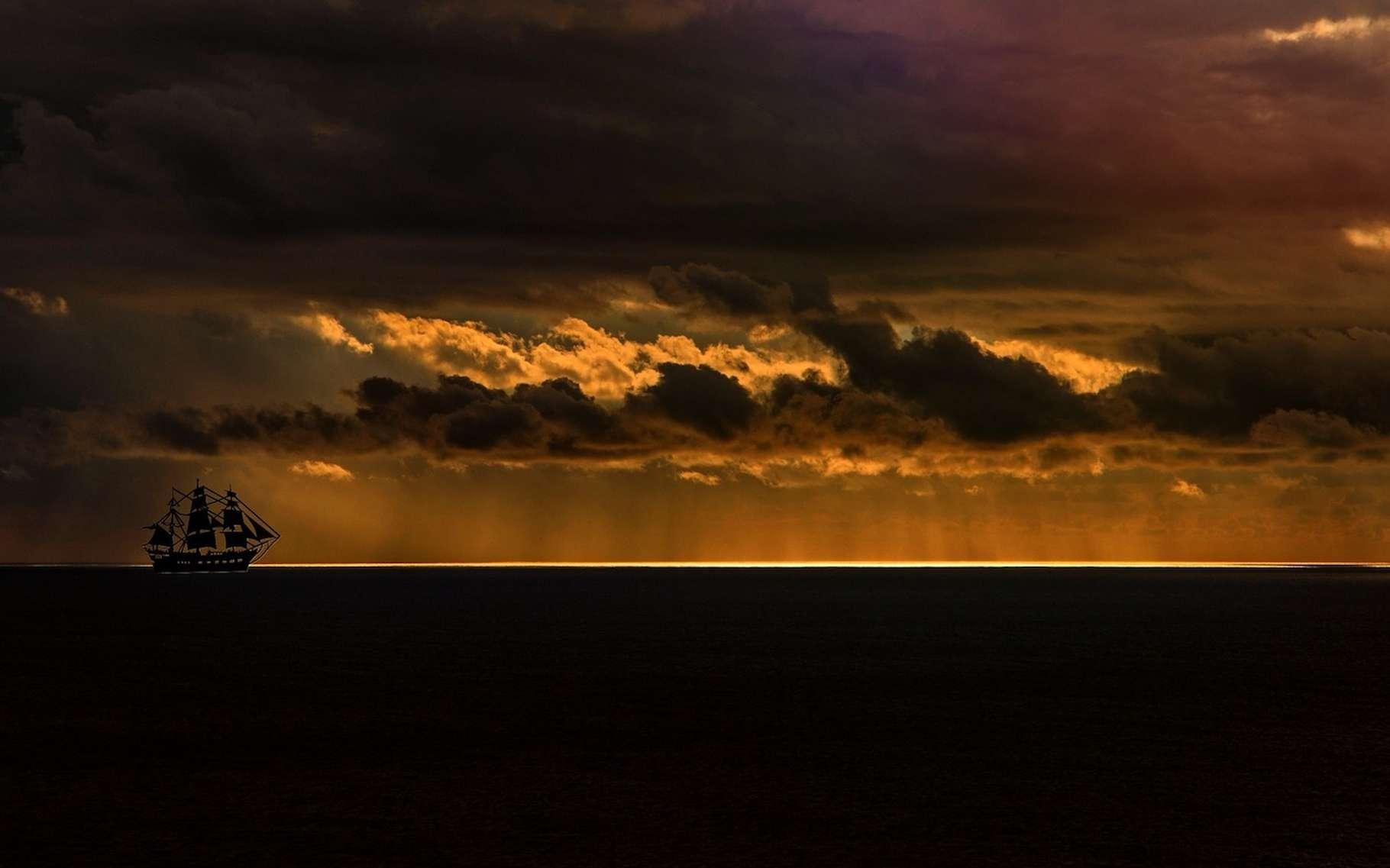 Les ondes de Rossby sont importantes en météorologie. Elles transportent de l'air chaud des tropiques vers le nord et inversement pour l'air froid. Certaines sont responsables de l'apparition de hautes ou de basses pressions au sol. © cocoparisienne, Pixabay, DP