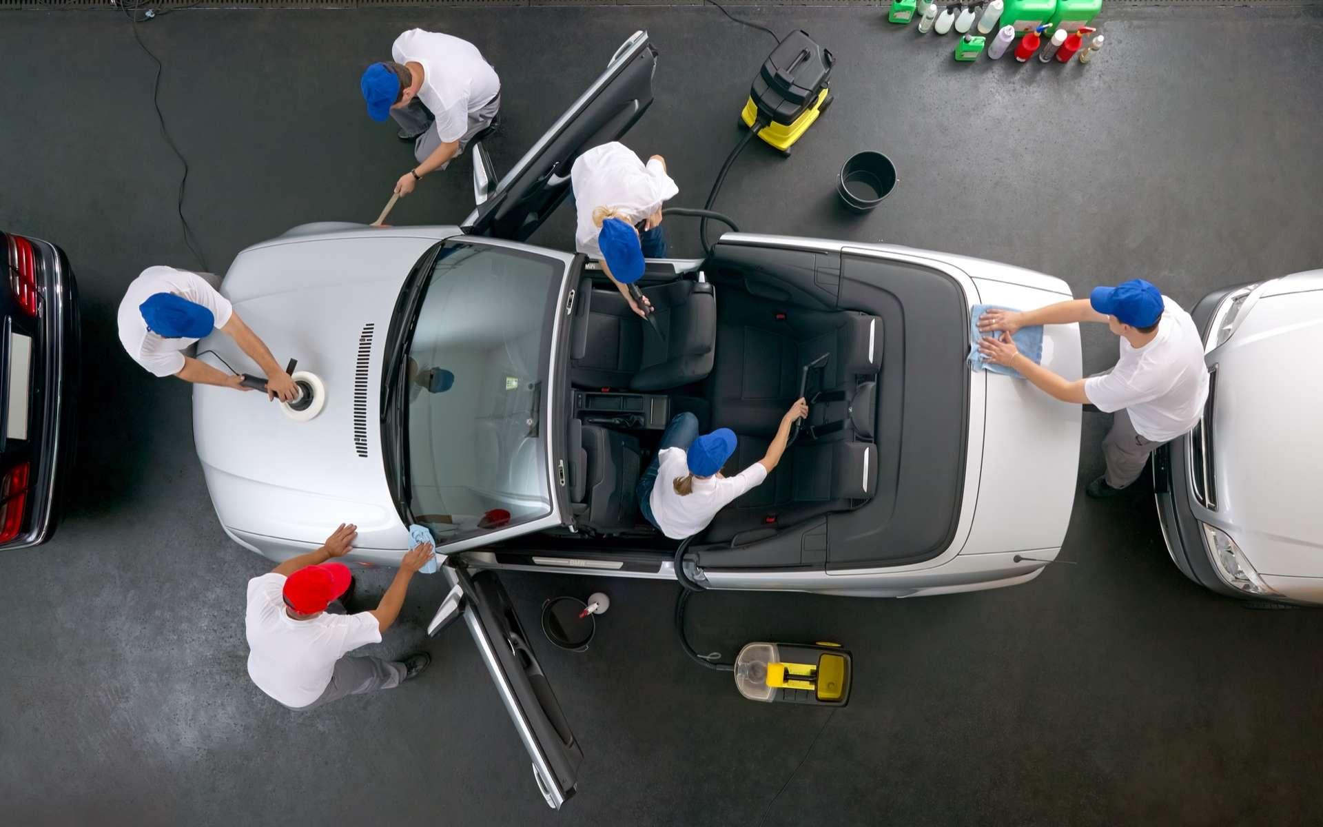 Quelques conseils pour bien entretenir sa voiture et la conserver en bon état longtemps. © Günter Menzl, Adobe Stock