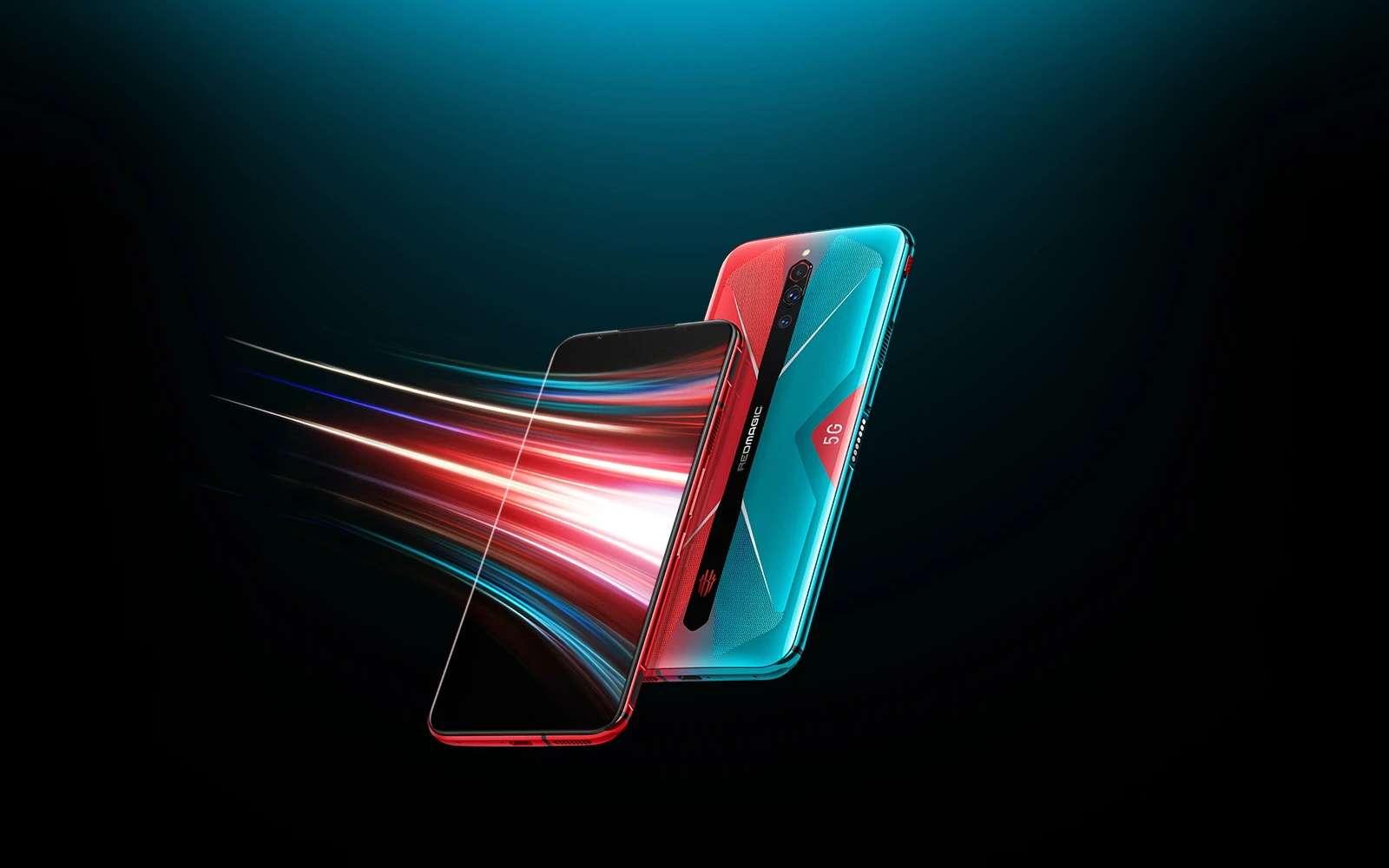 Le Red Magic 5G, le nouveau smartphone gamer de Nubia. © Nubia