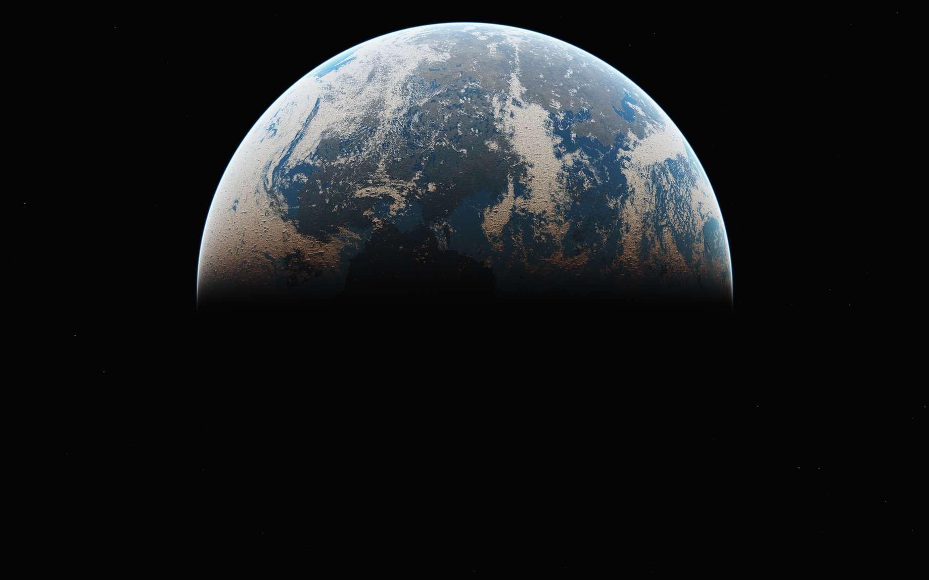 La Terre vue de l'espace. © aleksandar nakovski, fotolia