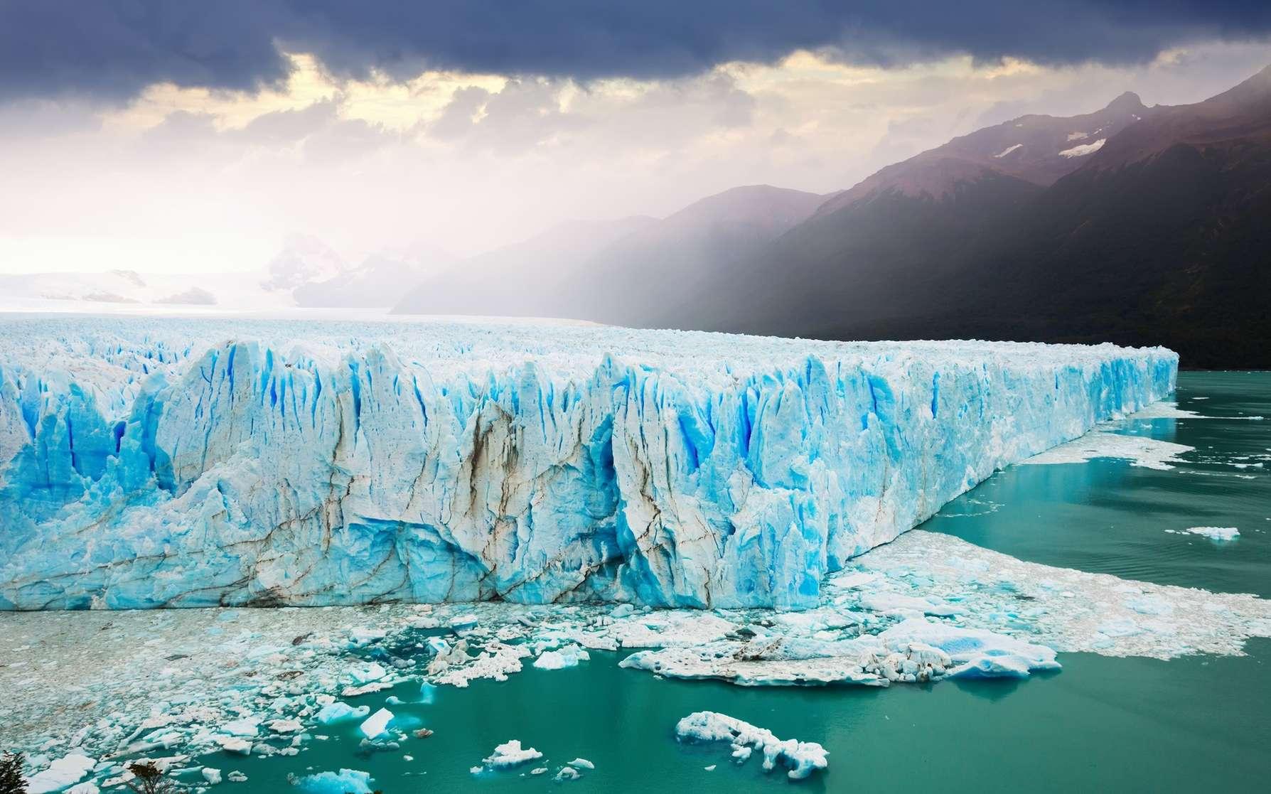 Le Perito Moreno se trouve au sud-est de l'Argentine. © JackF, Fotolia