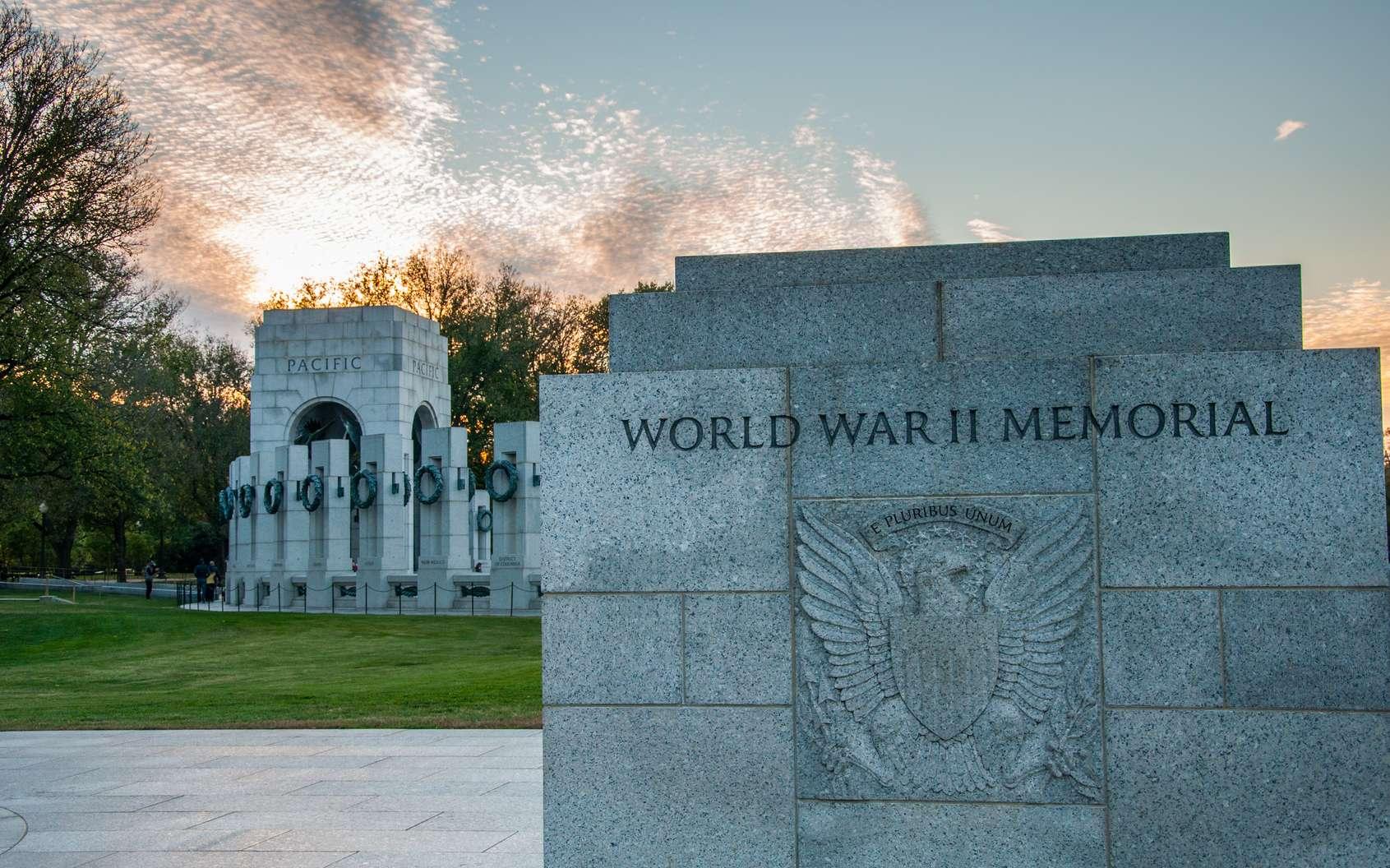 Mémorial de la seconde guerre mondiale à Washington D.C. © justinfegan, fotolia