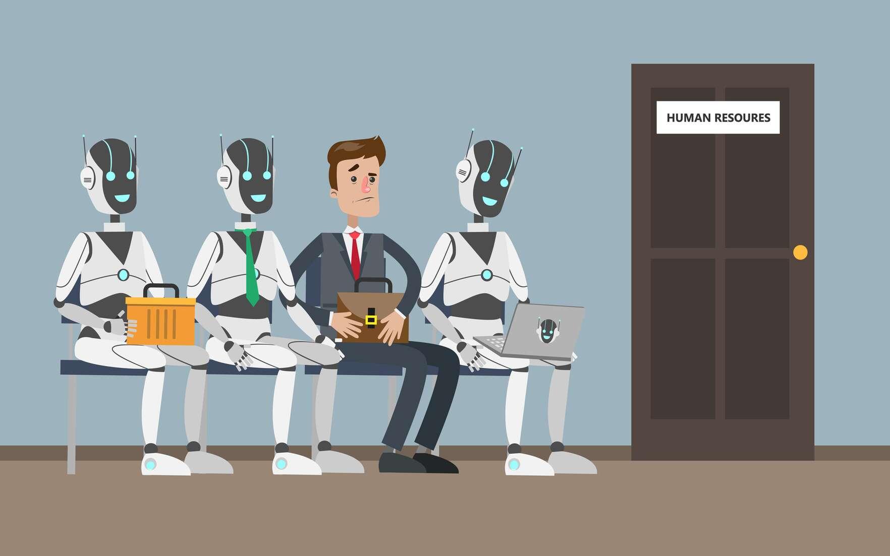 Les métiers menacés par l'automatisation et l'intelligence artificielle. © artinspiring, Fotolia