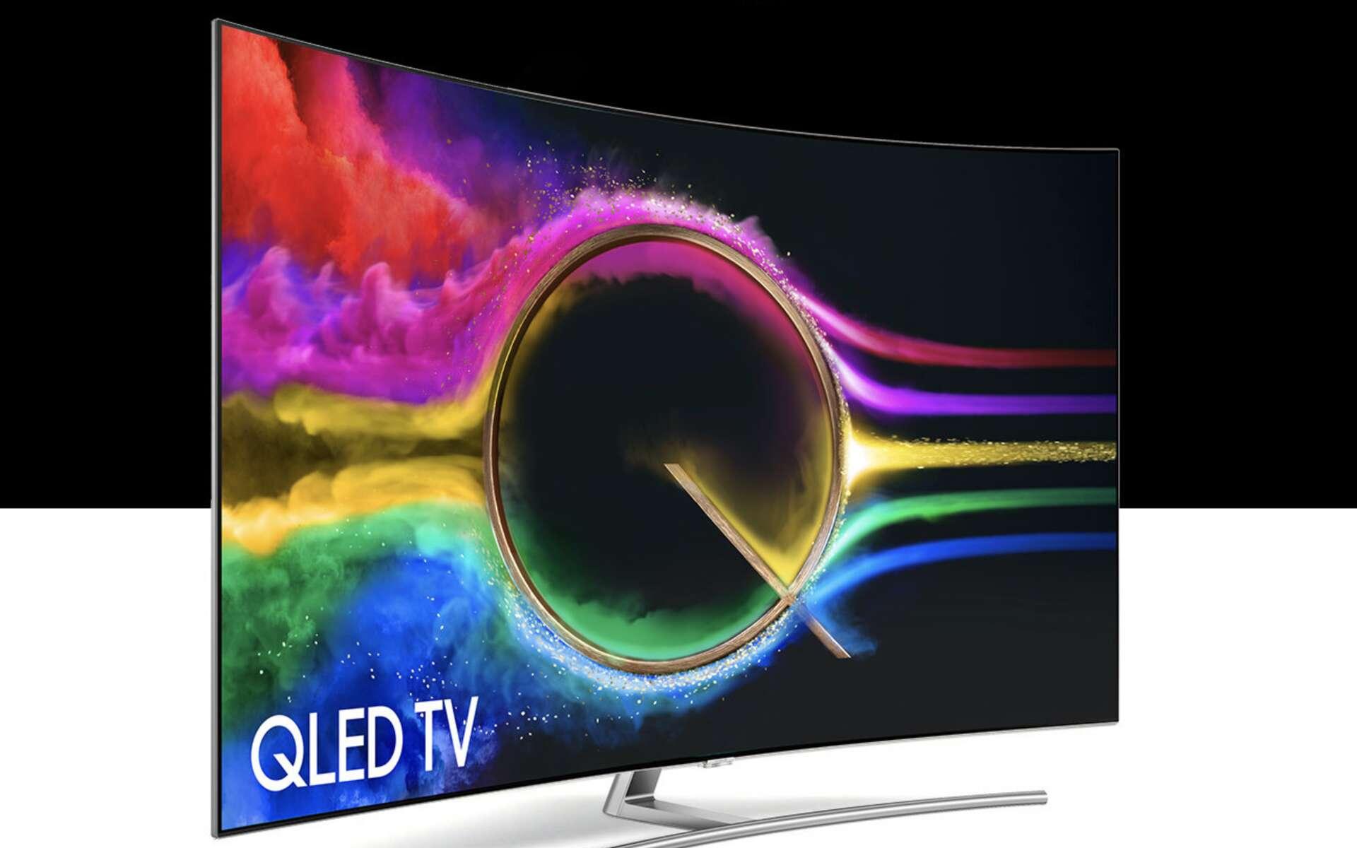 Un téléviseur Qled de Samsung © Samsung