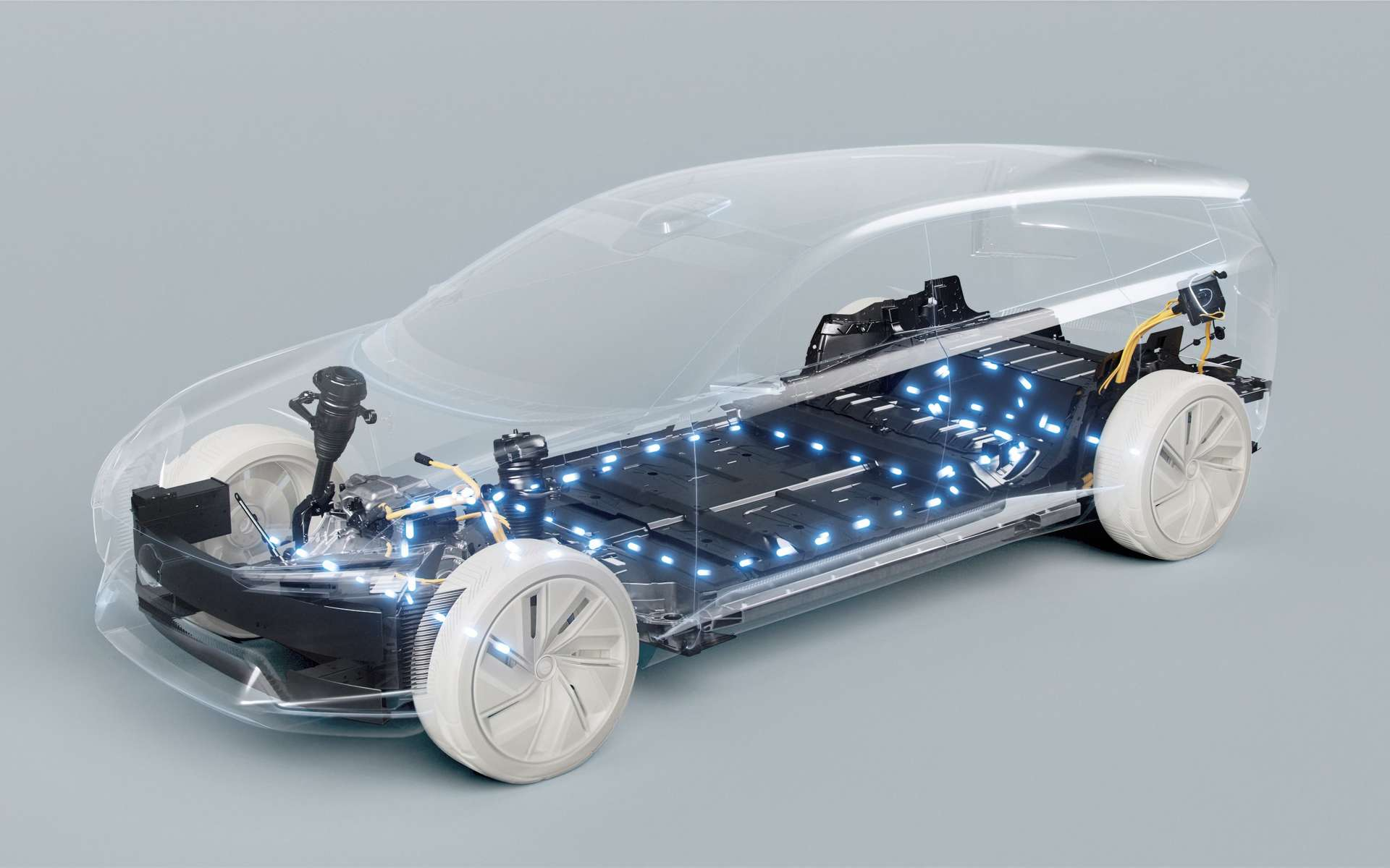 Les batteries représentent un axe de développement clé pour Volvo. © Volvo Cars