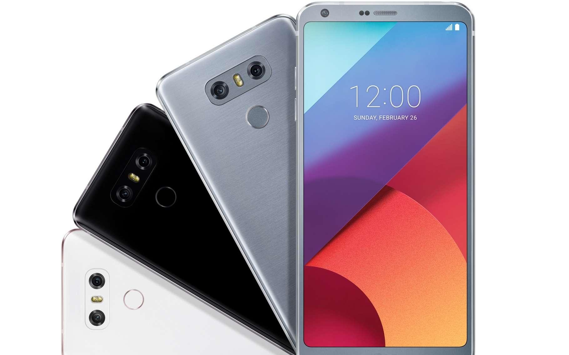 Les principaux concurrents de Samsung ont profité de son absence pour focaliser l'attention médiatique sur leurs nouveaux smartphones. Ici le LG G6. © LG