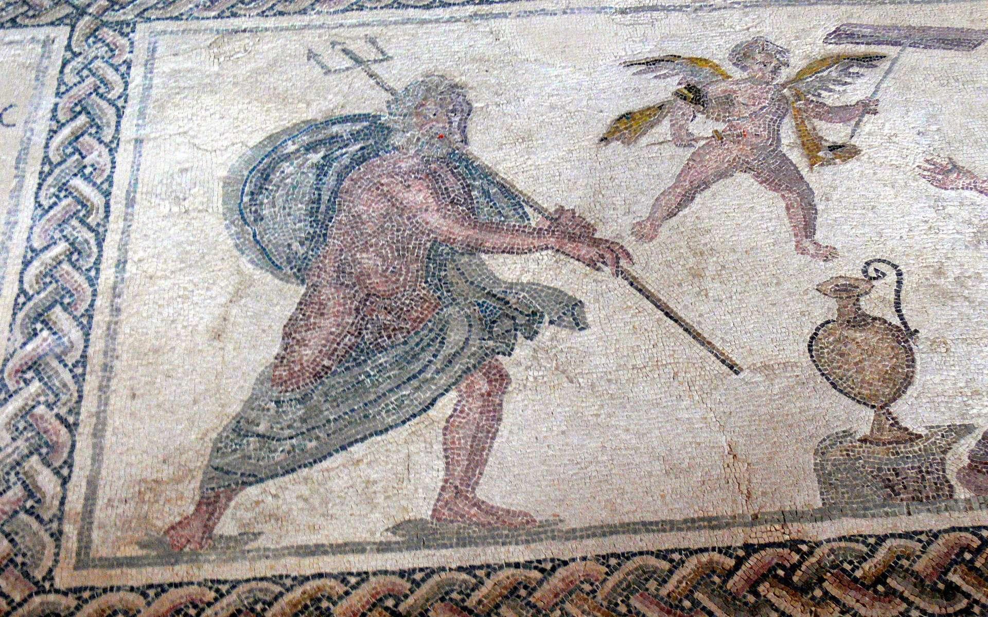 Poséidon, dieu des océans, était un des principaux dieux de la mythologie grecque. © Wolfgang Sauber, Wikimedia Commons, cc by sa 3.0