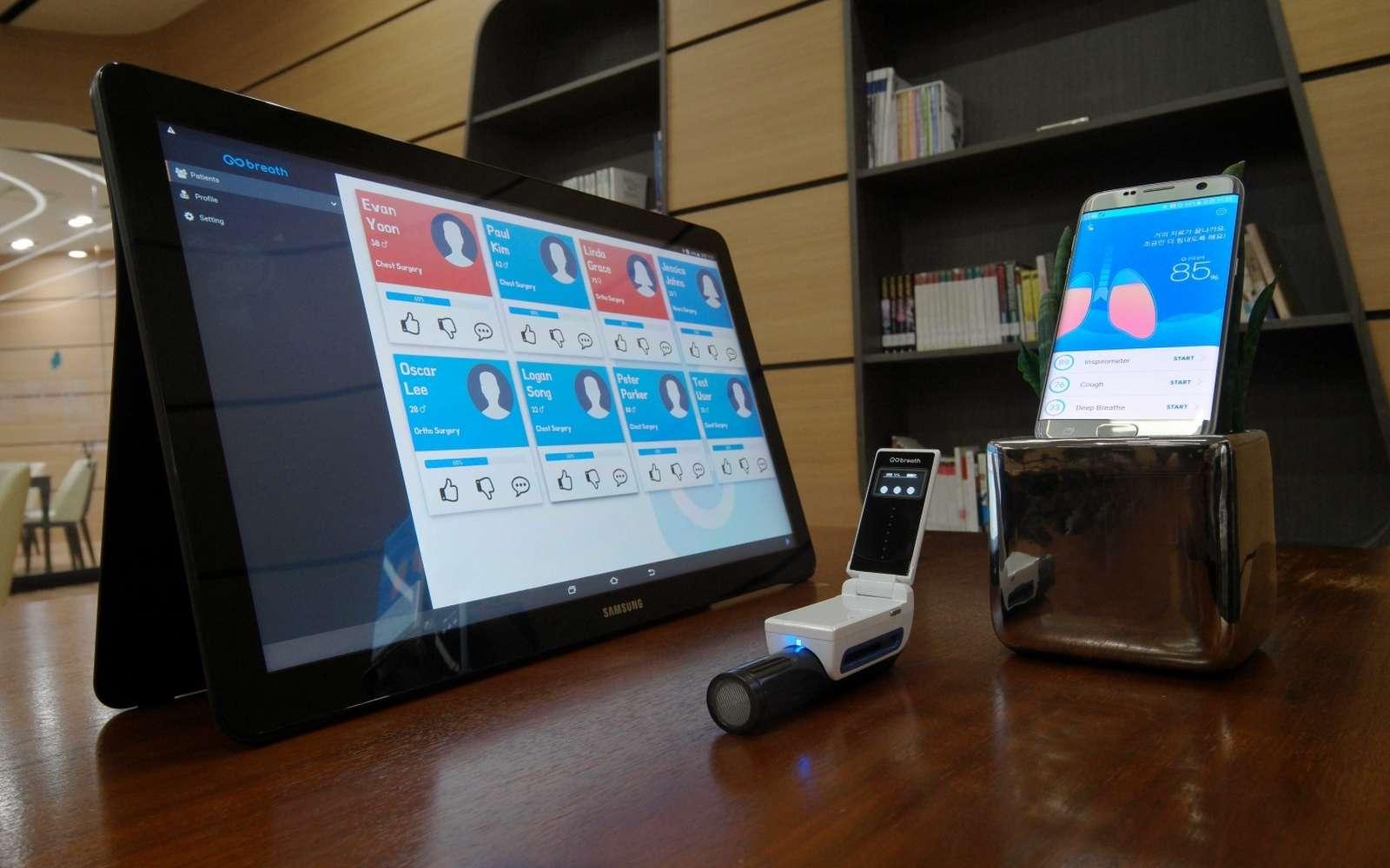 Si Samsung profite traditionnellement du CES pour dévoiler ses nouveautés en matière de télévision et d'équipements électroniques pour la maison, le constructeur a choisi de présenter trois prototypes qui préfigurent sans doute de futurs produits. © Samsung